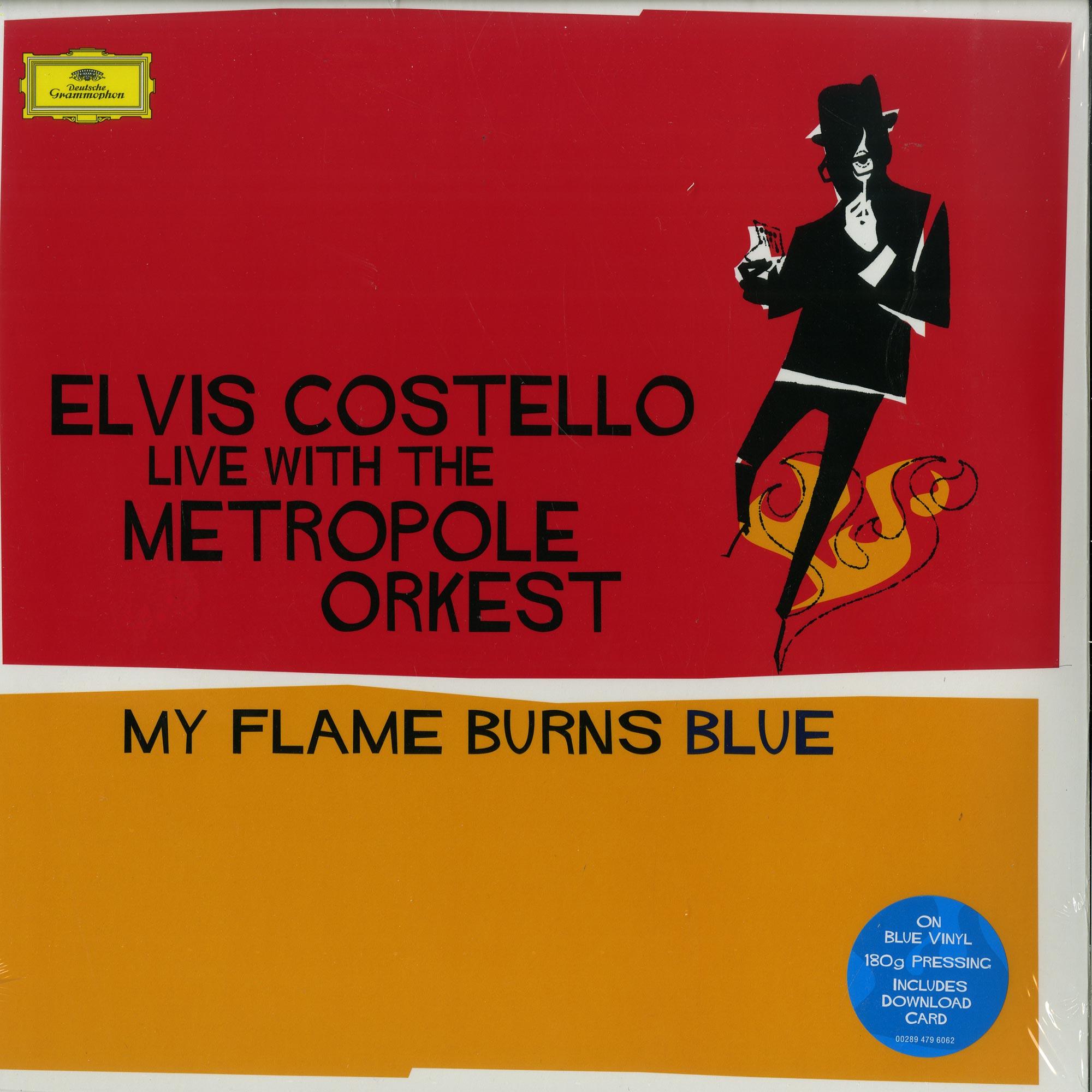 Elvis Costello - MY FLAME BURNS BLUE