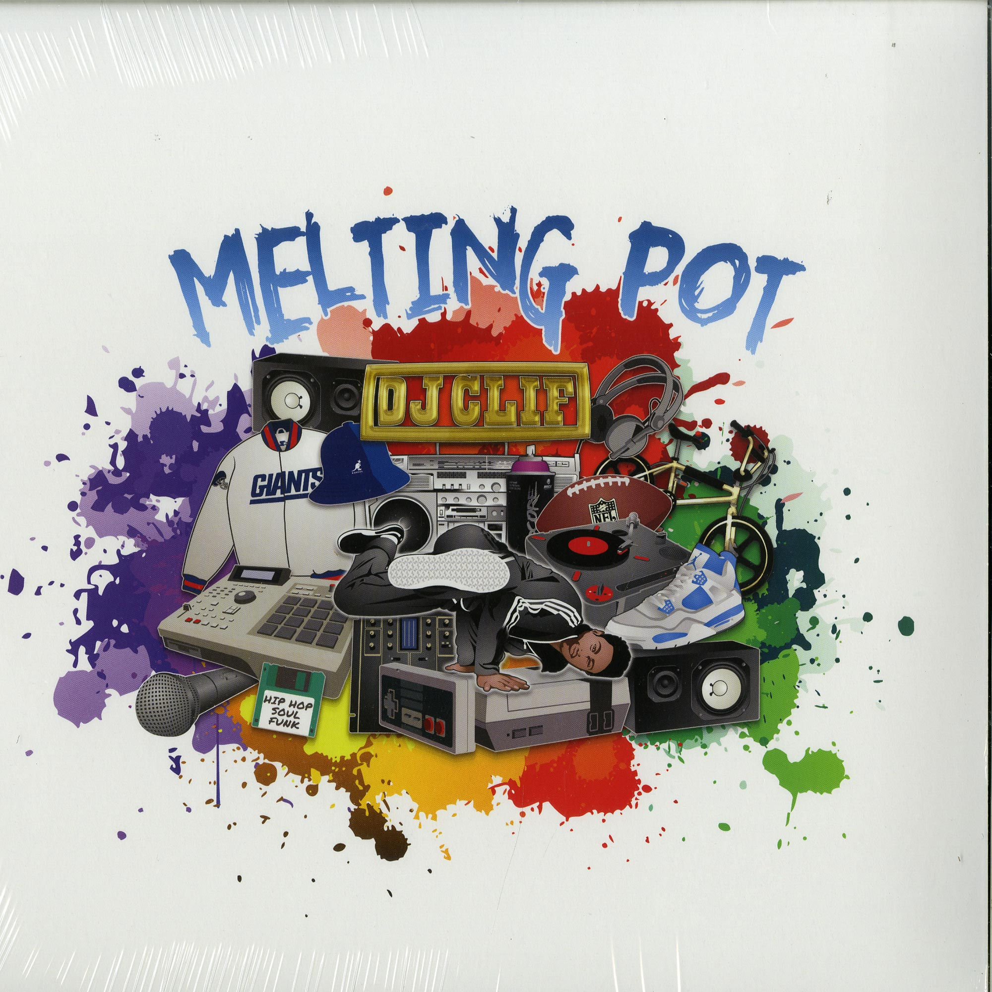 DJ Clif - MELTING POT