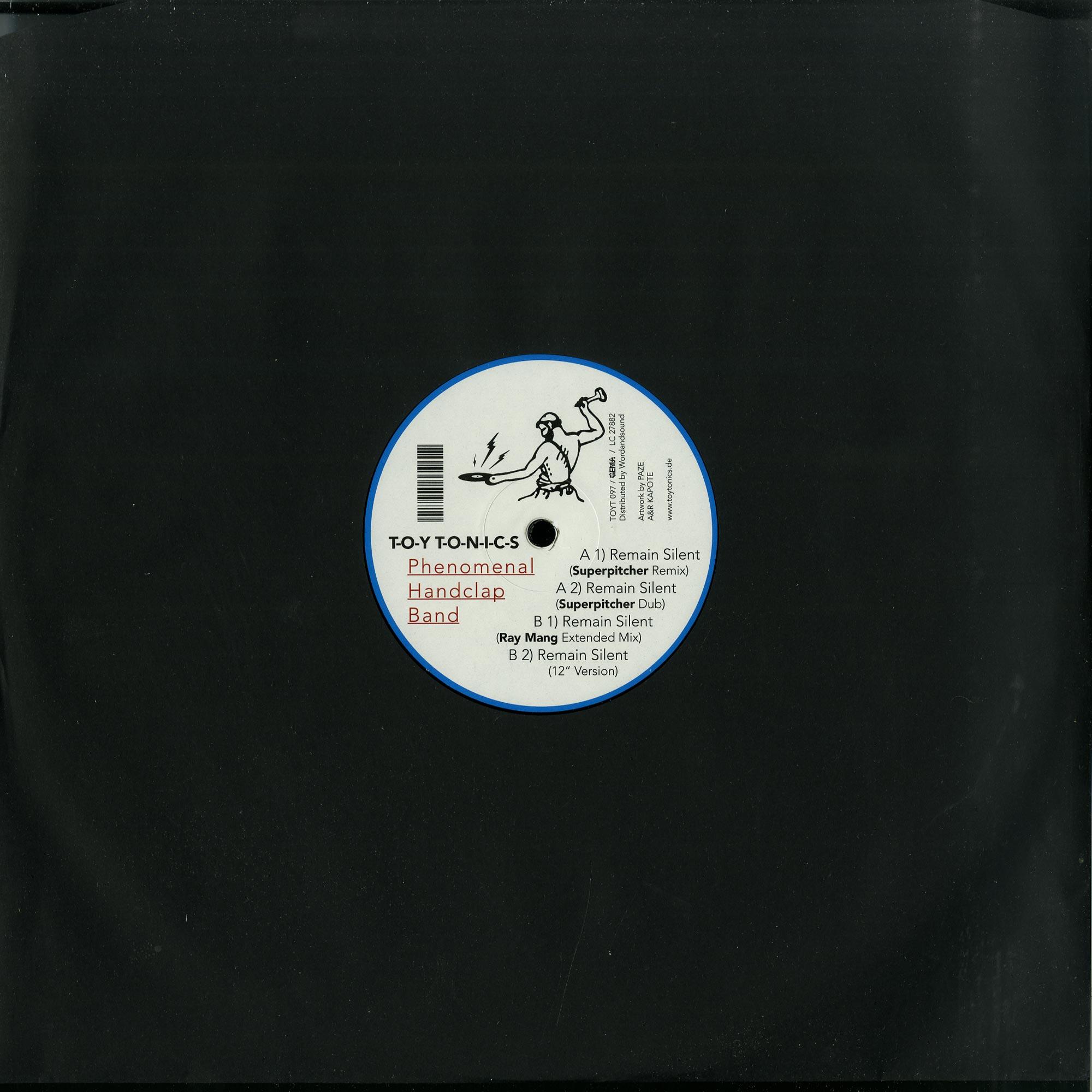Phenomenal Handclap Band - REMAIN SILENT