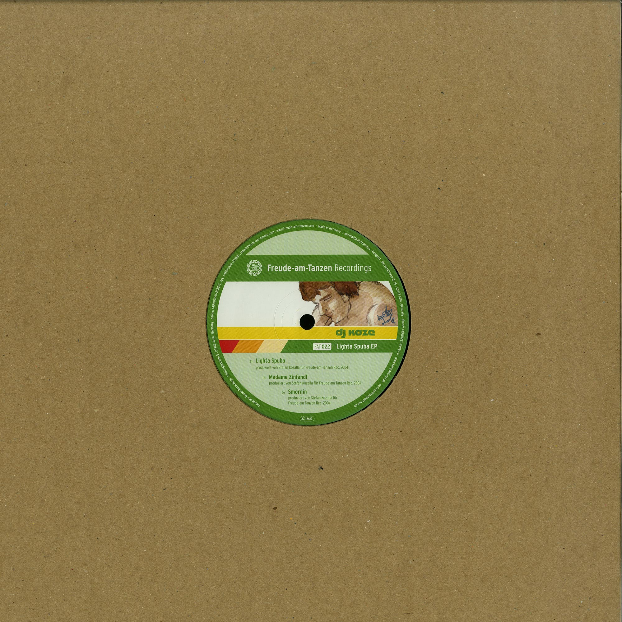 DJ Koze - LIGHTA SPUBA EP