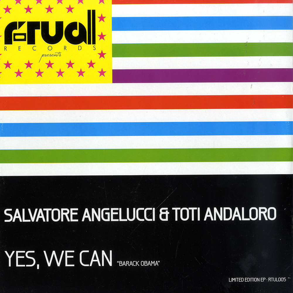 Salvatore Angelucci & Toti Andaloro - YES, WE CAN
