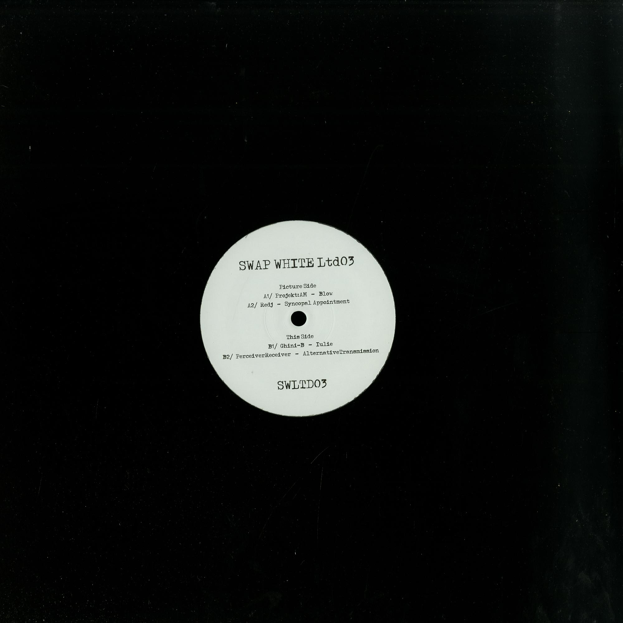 Various Artists - SWAP WHITE LTD 03