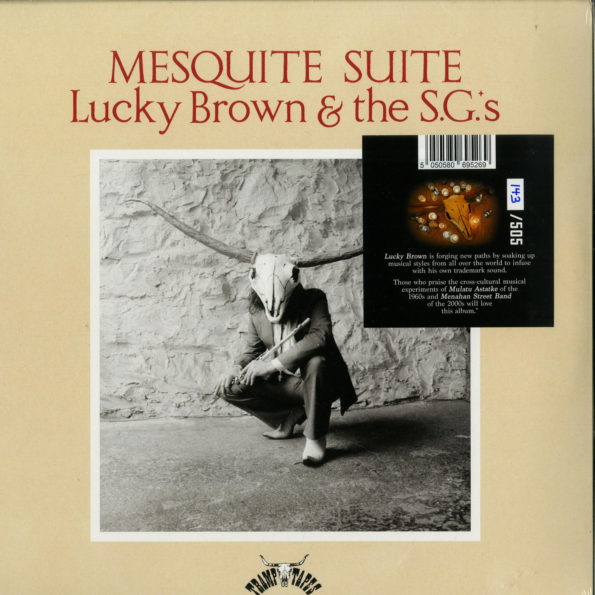 Lucky Brown & The S.G.s - MESQUITE SUITE