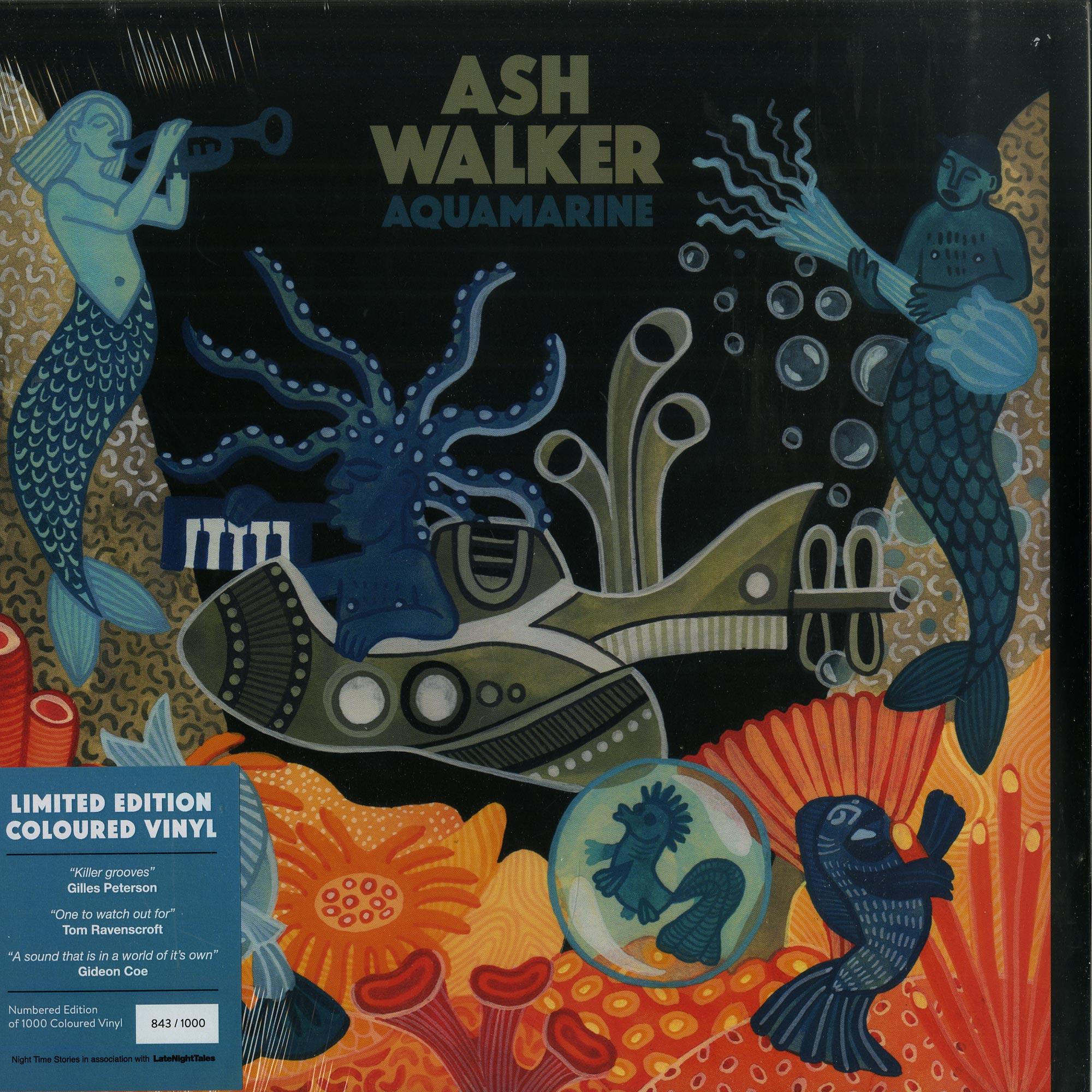 Ash Walker - AQUA MARINE