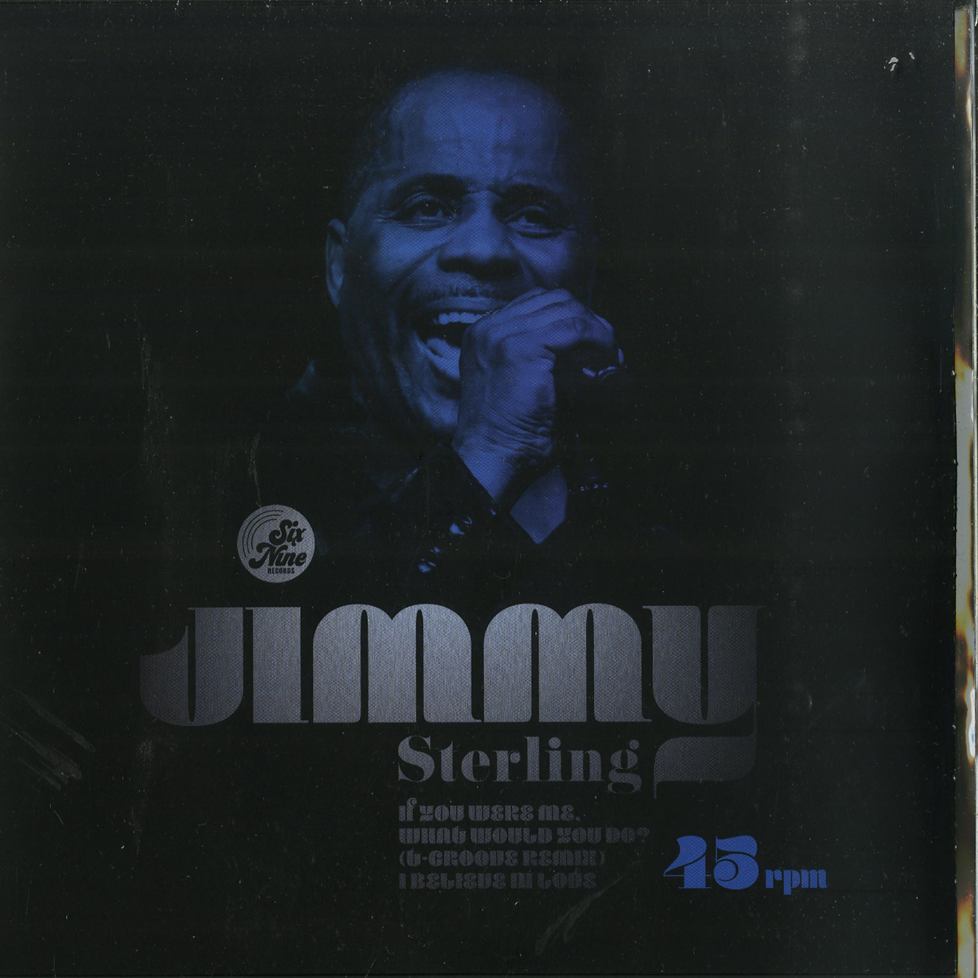 Jimmy Sterling - IF YOU WERE ME / I BELIEVE IN LOVE