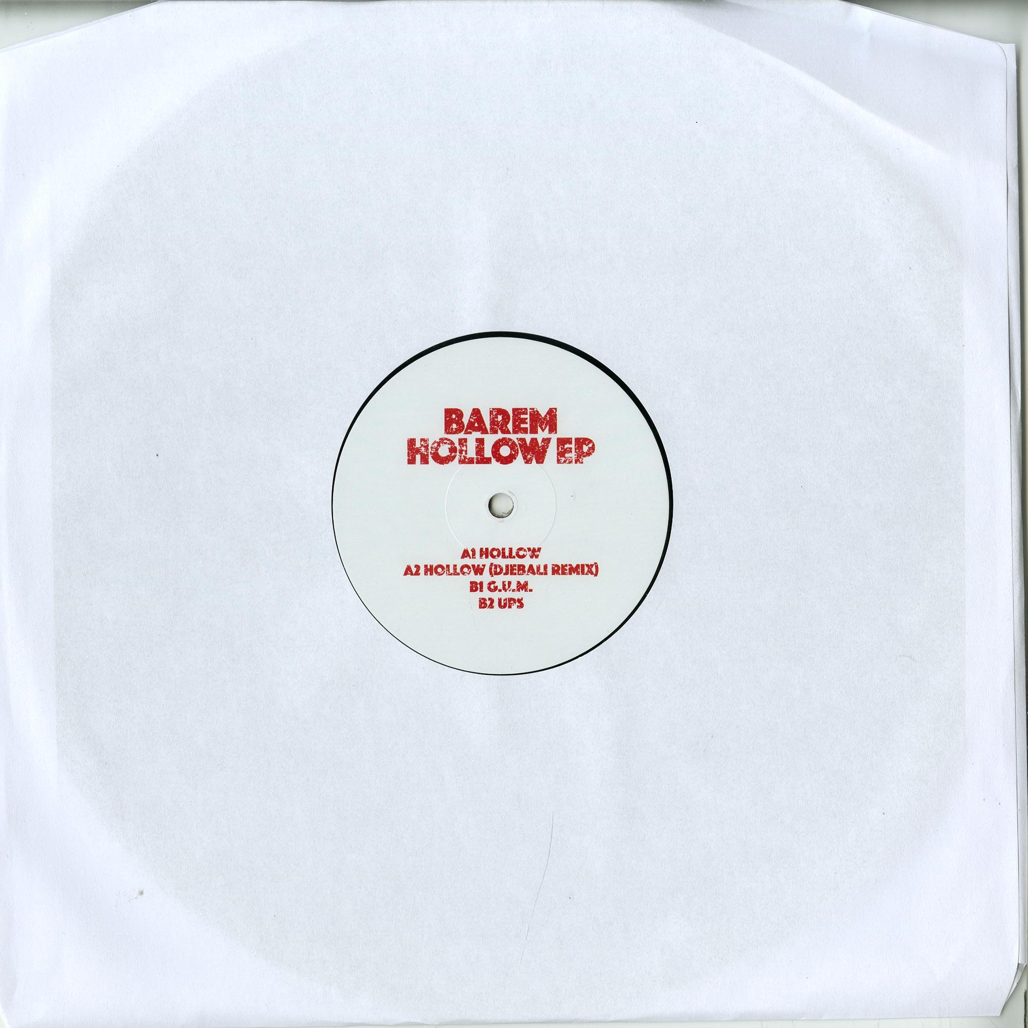 Barem - HOLLOW EP