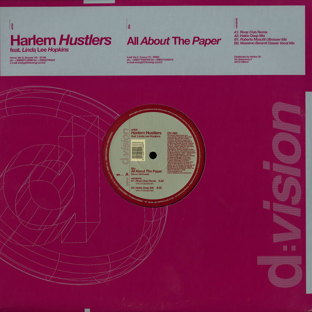 Harlem Hustlers feat. Linda Lee Hopkins - ALL ABOUT THE PAPER