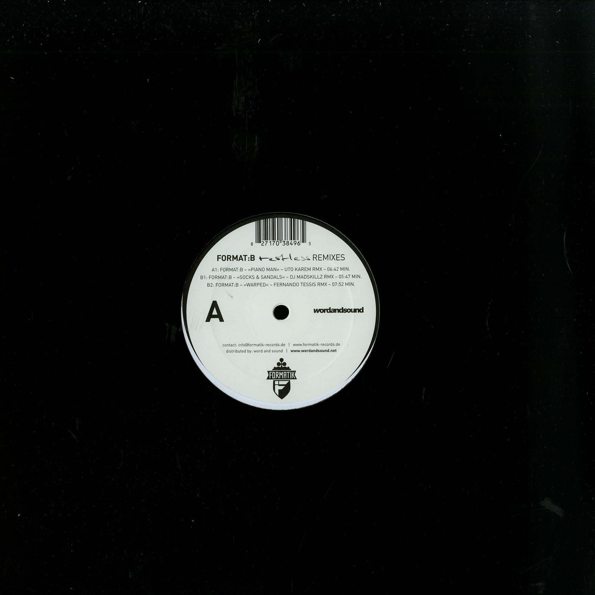 Various Artists - FORMAT B RESTLESS REMIXES SESSION 3