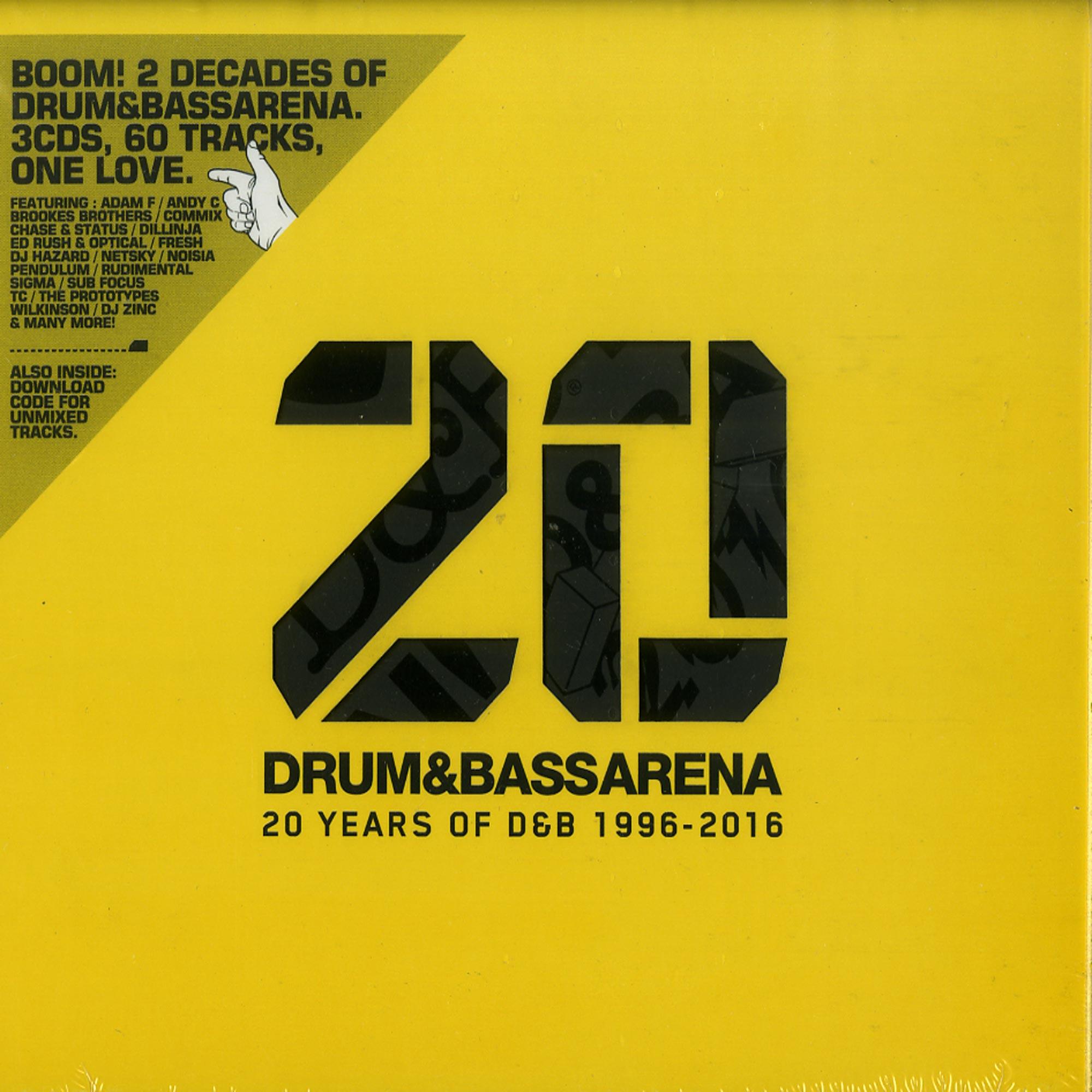 Various - DRUM & BASS ARENA - 20 YEARS
