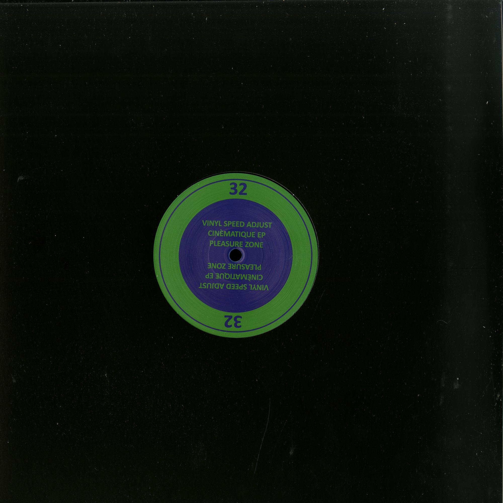 Vinyl Speed Adjust - CINEMATIQUE EP