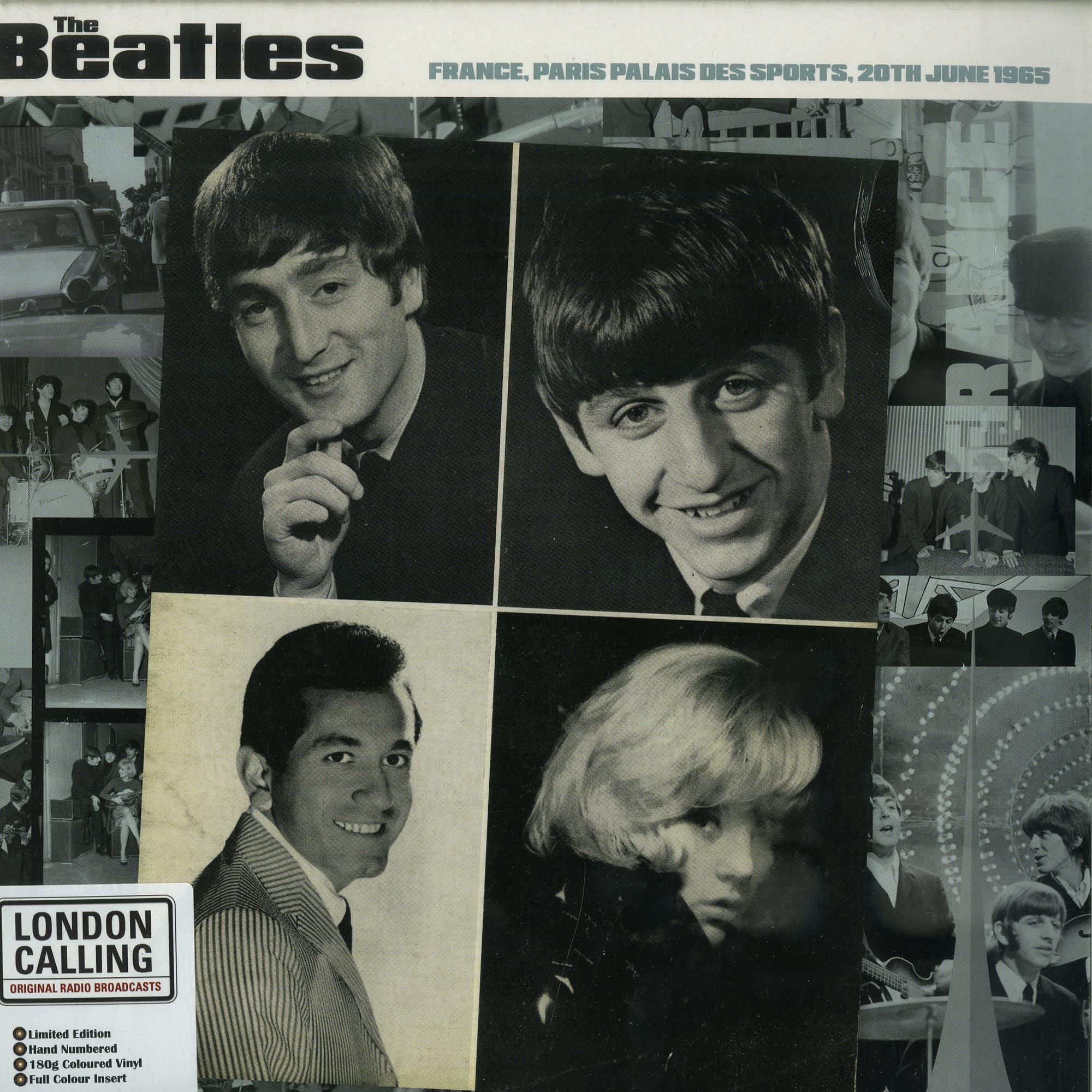 The Beatles - PARIS 20TH JUNE 1965