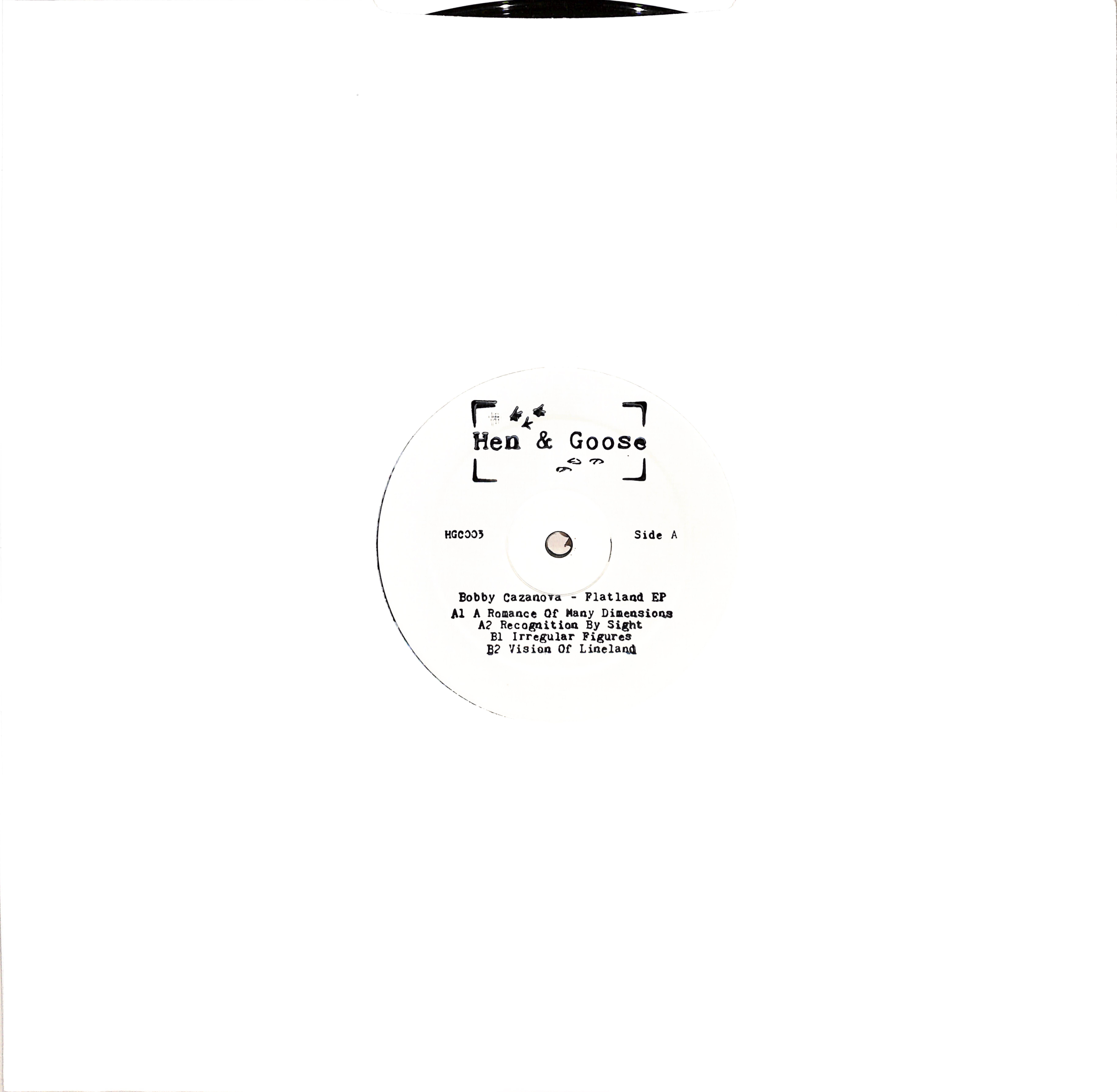 Bobby Cazanova - FLATLAND EP