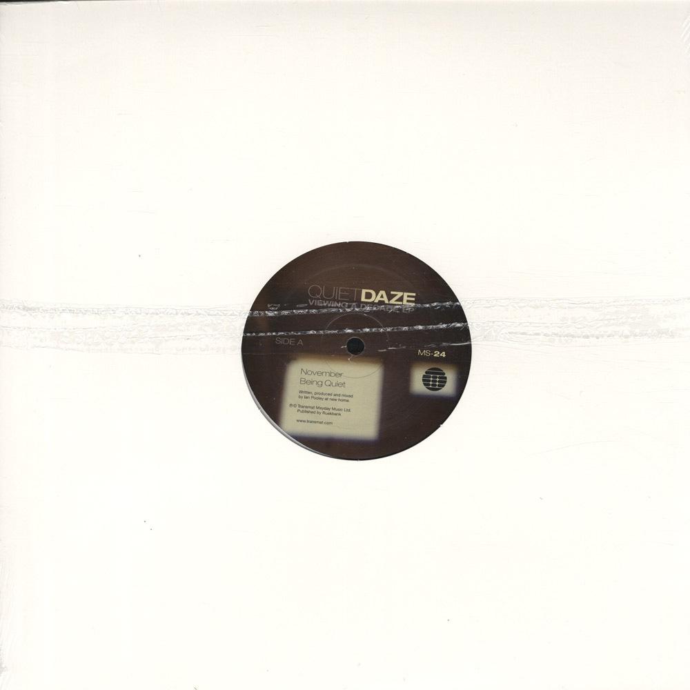 Quiet Daze - VIEWING A DECADE EP