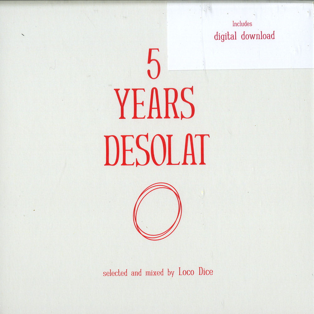 Various Artists mixed by Loco Dice - 5 YEARS DESOLAT