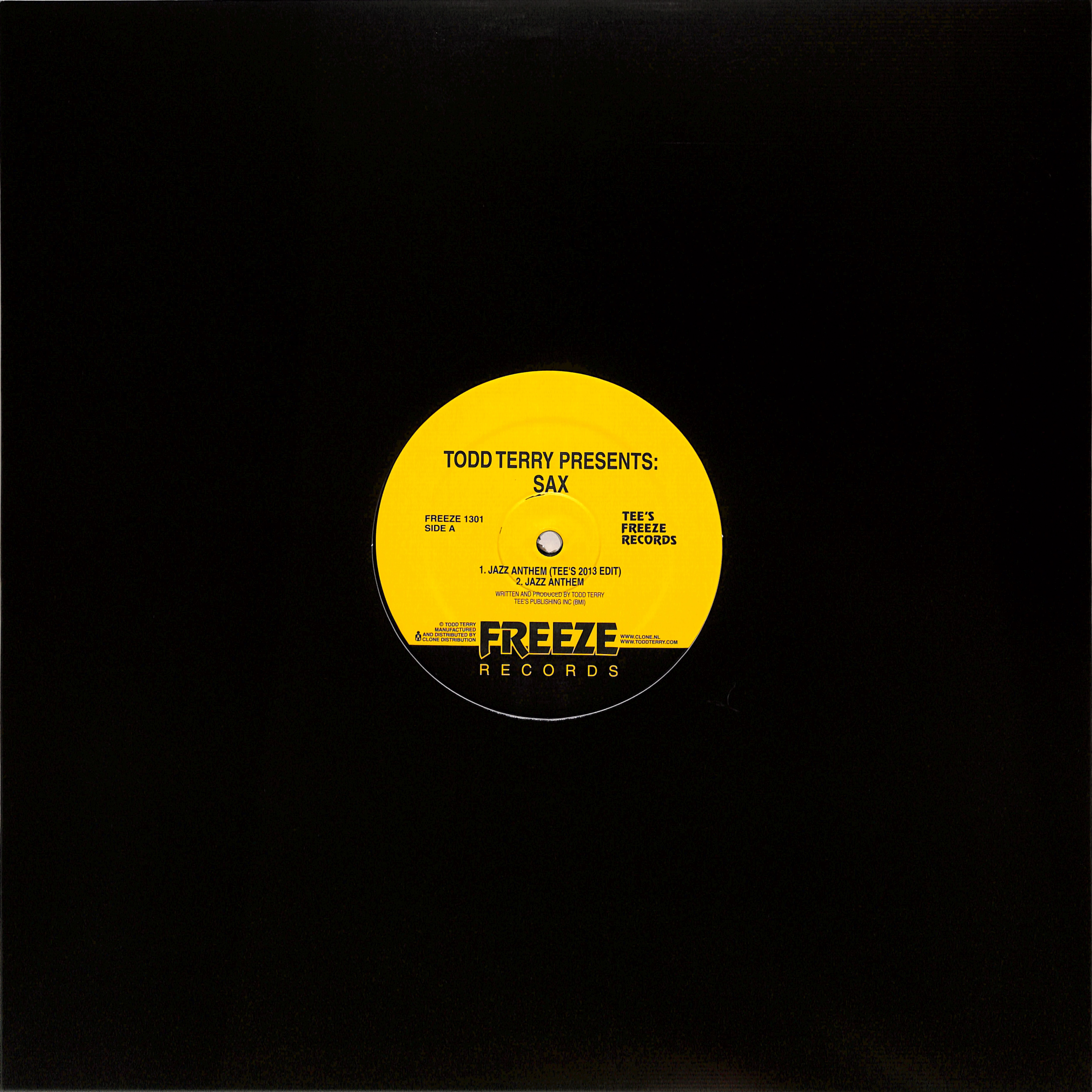 Todd Terry - TODD TERRY PRESENTS SAX