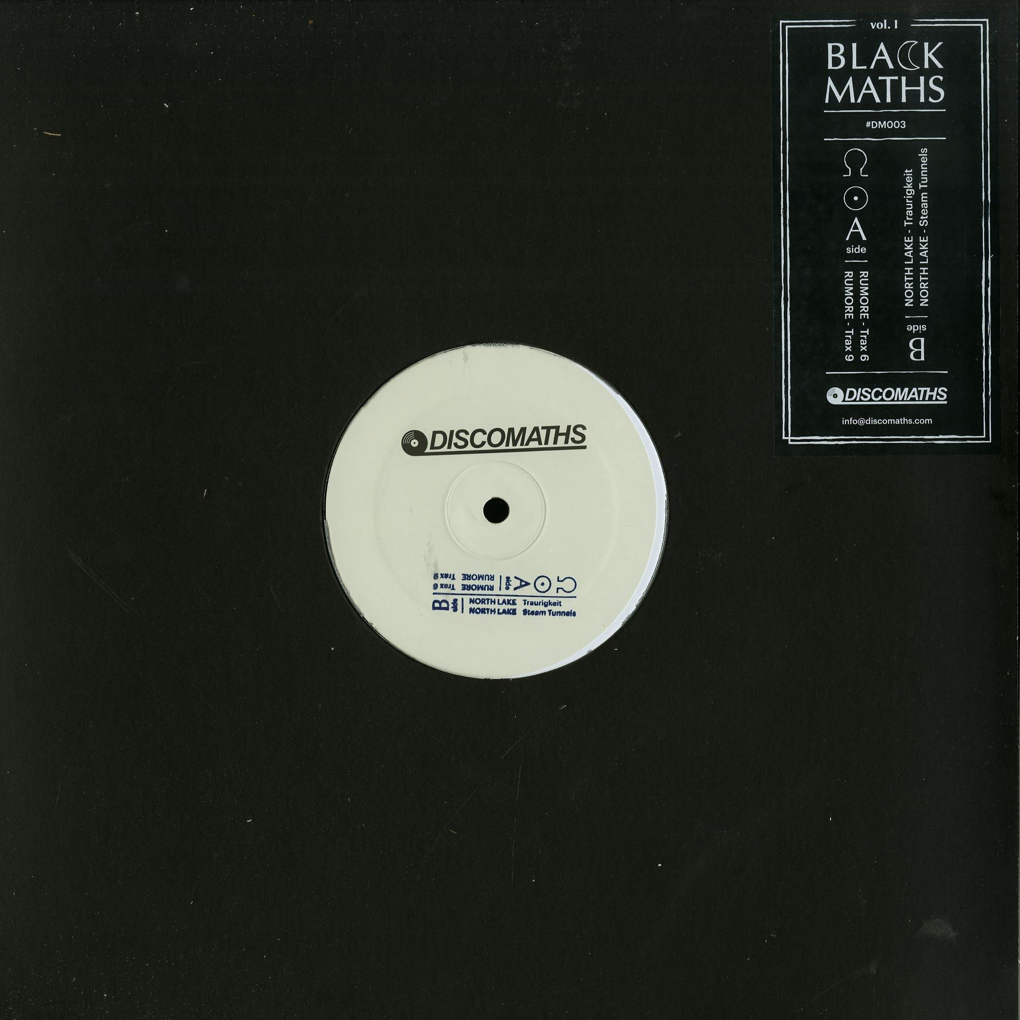 Rumore / North Lake - BLACK MATHS