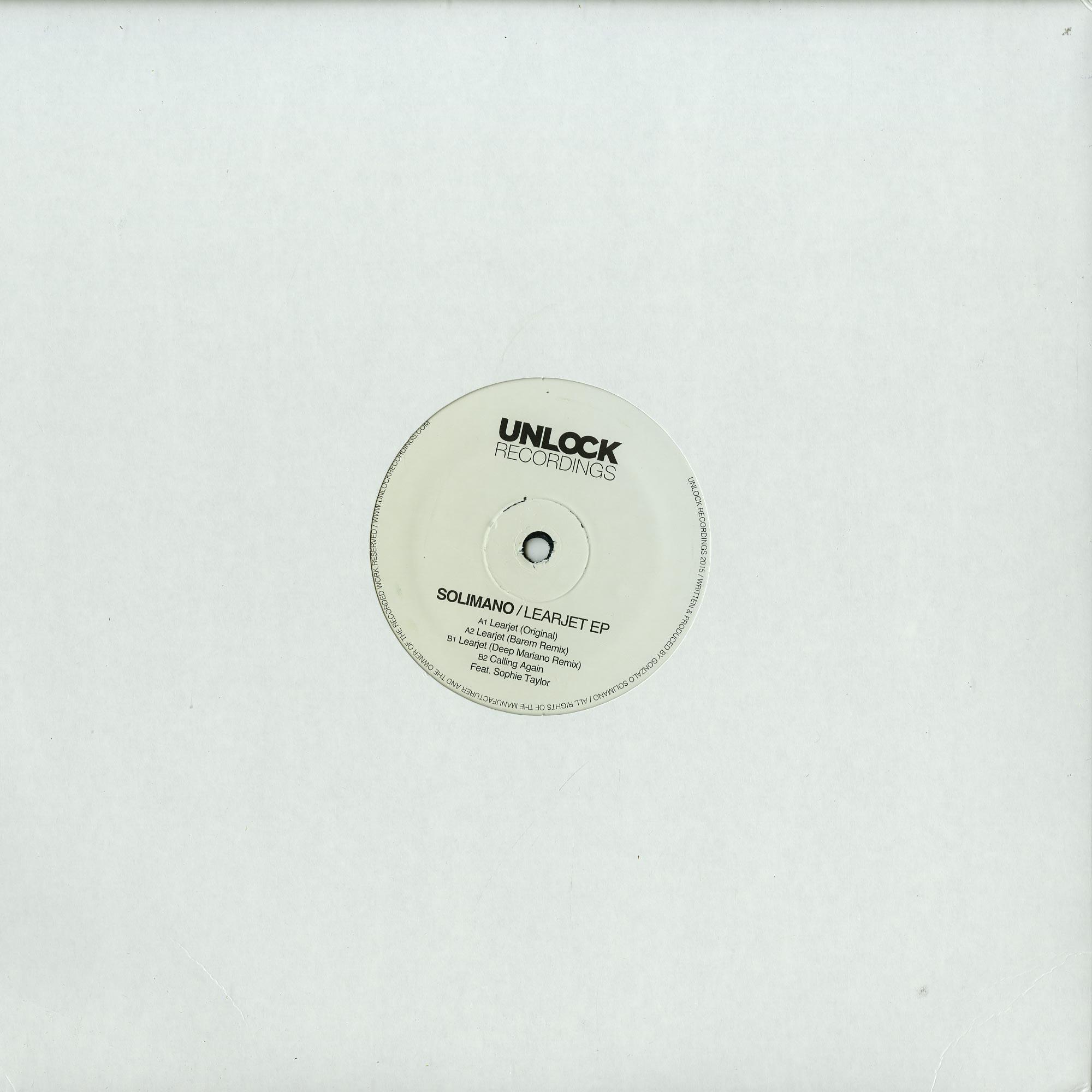 Solimano - LEARJET EP