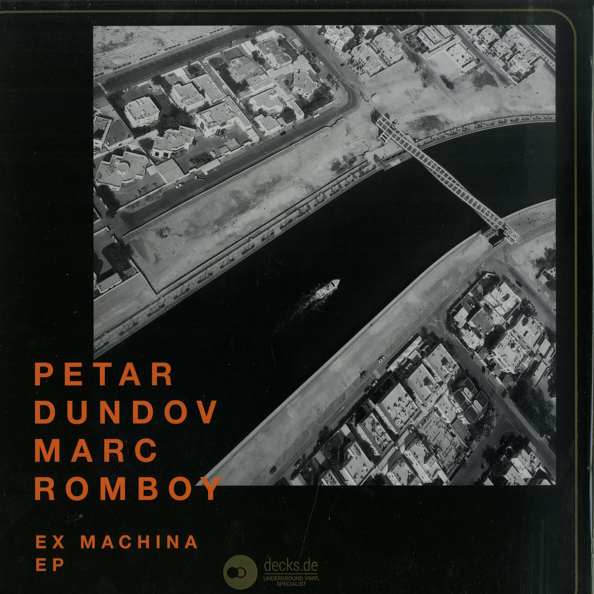 Petar Dundov & Marc Romboy - EX MACHINA EP