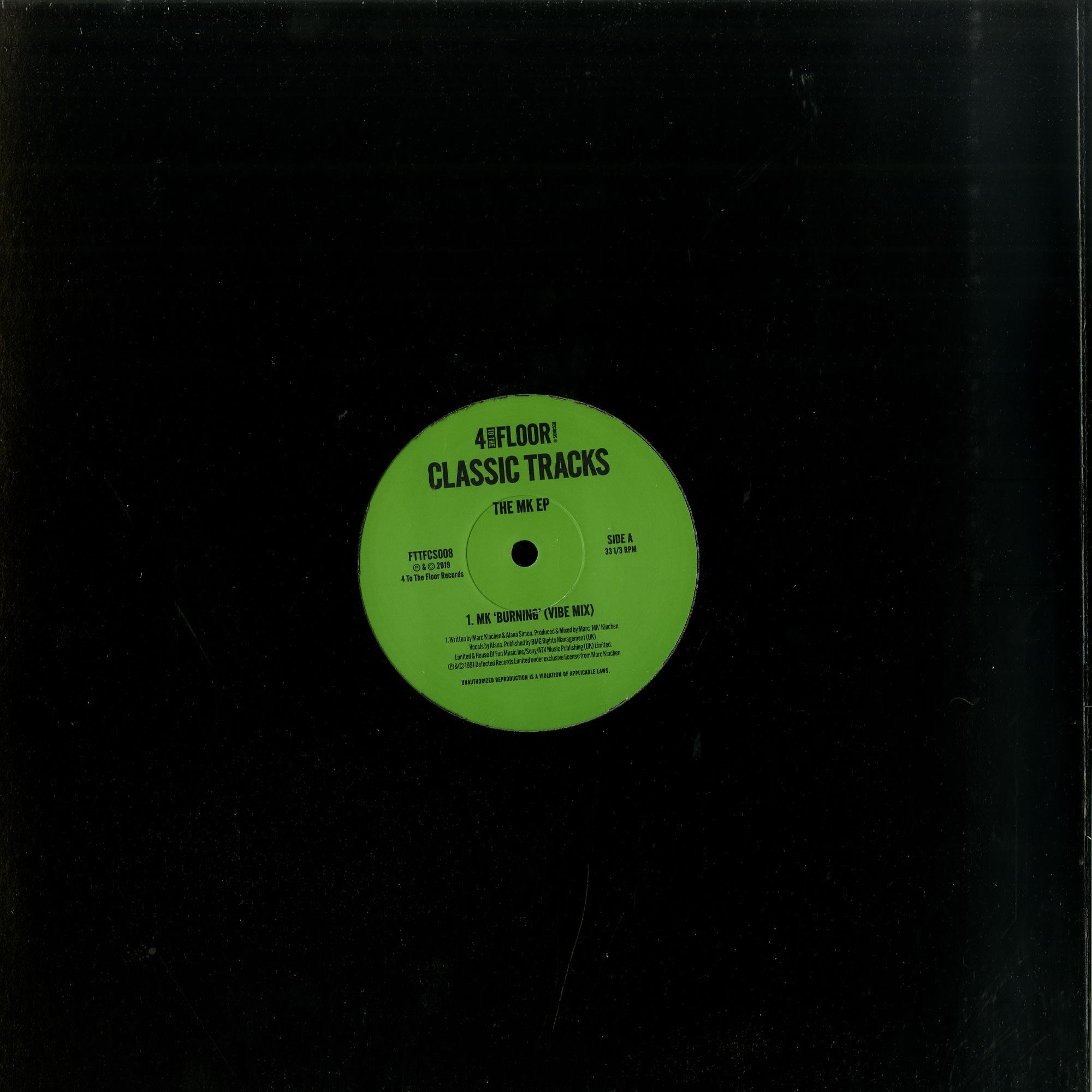 MK - CLASSICS VOLUME 7 THE MK EP
