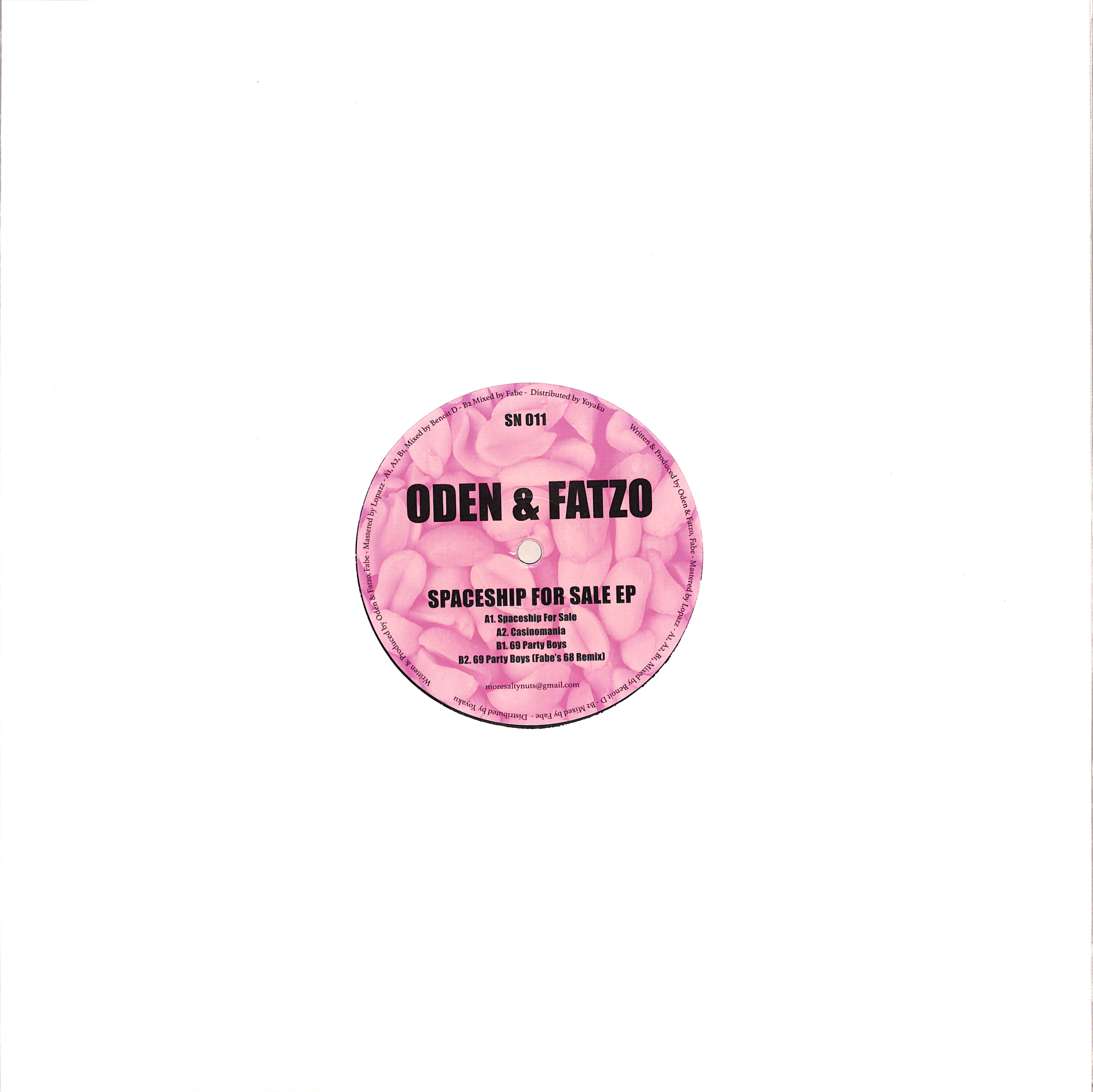 Oden & Fatzo - SPACESHIP FOR SALE EP