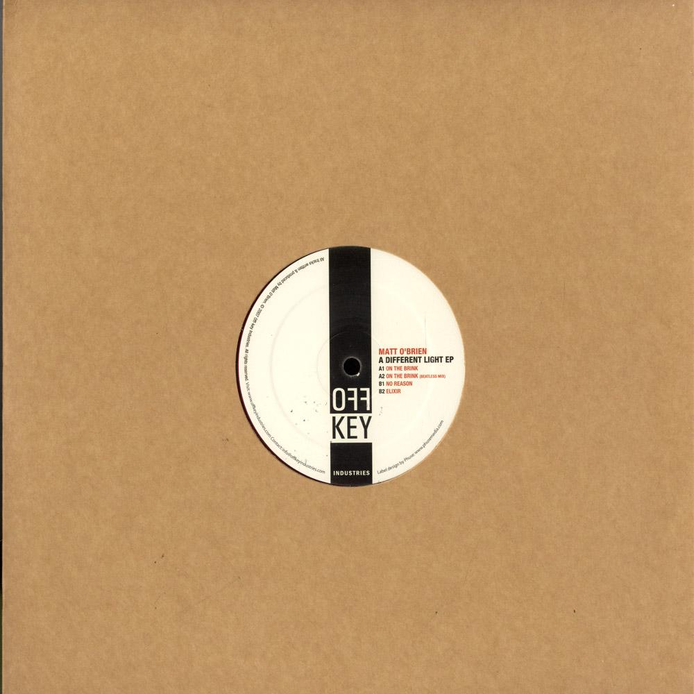 Matt O Brien - A DIFFERENT LIGHT EP