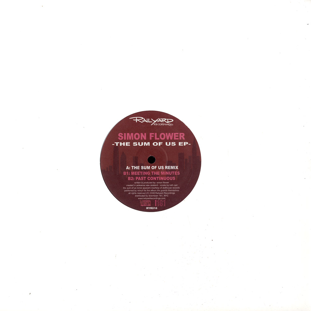 Simon Flower - THE SUM OF US EP