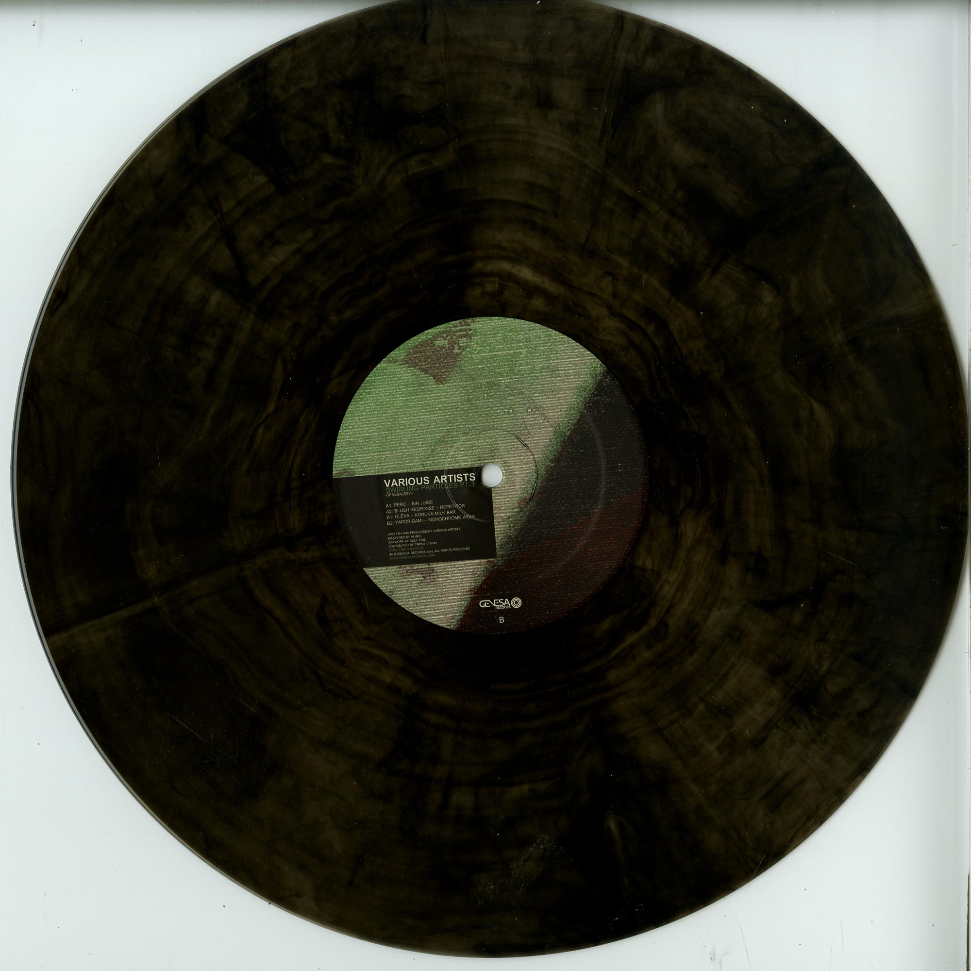 Perc / Blush Response / Oleka / Yaporigami - SWIRLING PARTICLES EP