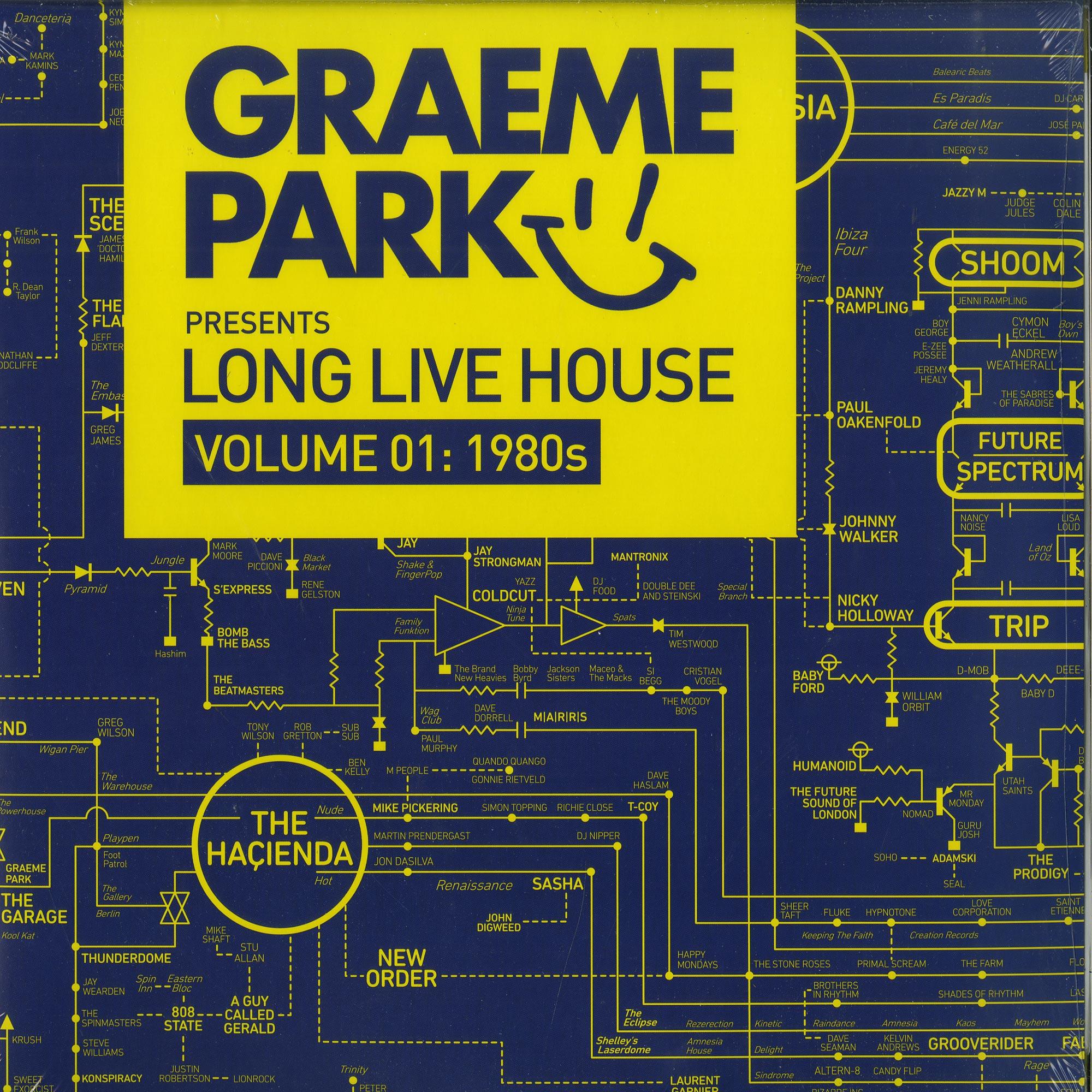 Various Artists - GRAEME PARK PRES. LONG LIVE HOUSE VOL.1: 1980S