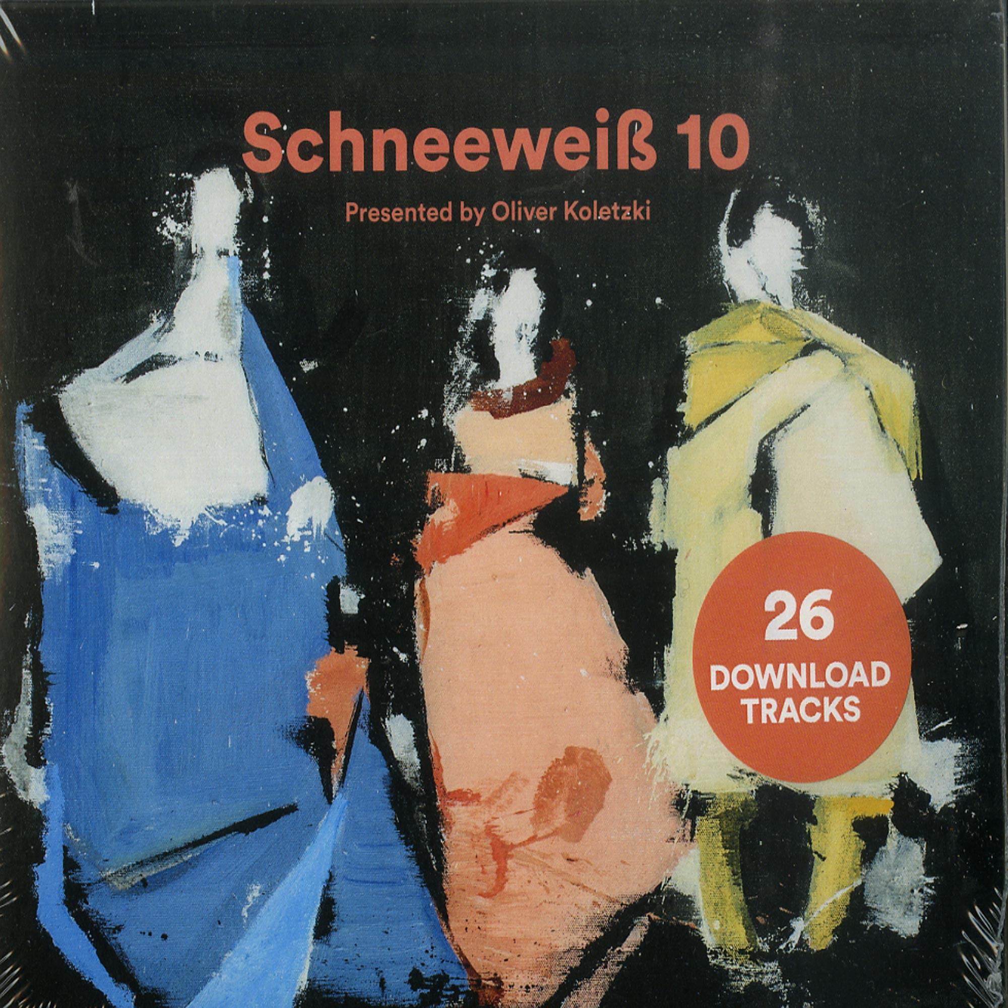 Various Artists - SCHNEEWEISS 10 PRESENTED BY OLIVER KOLETZKI