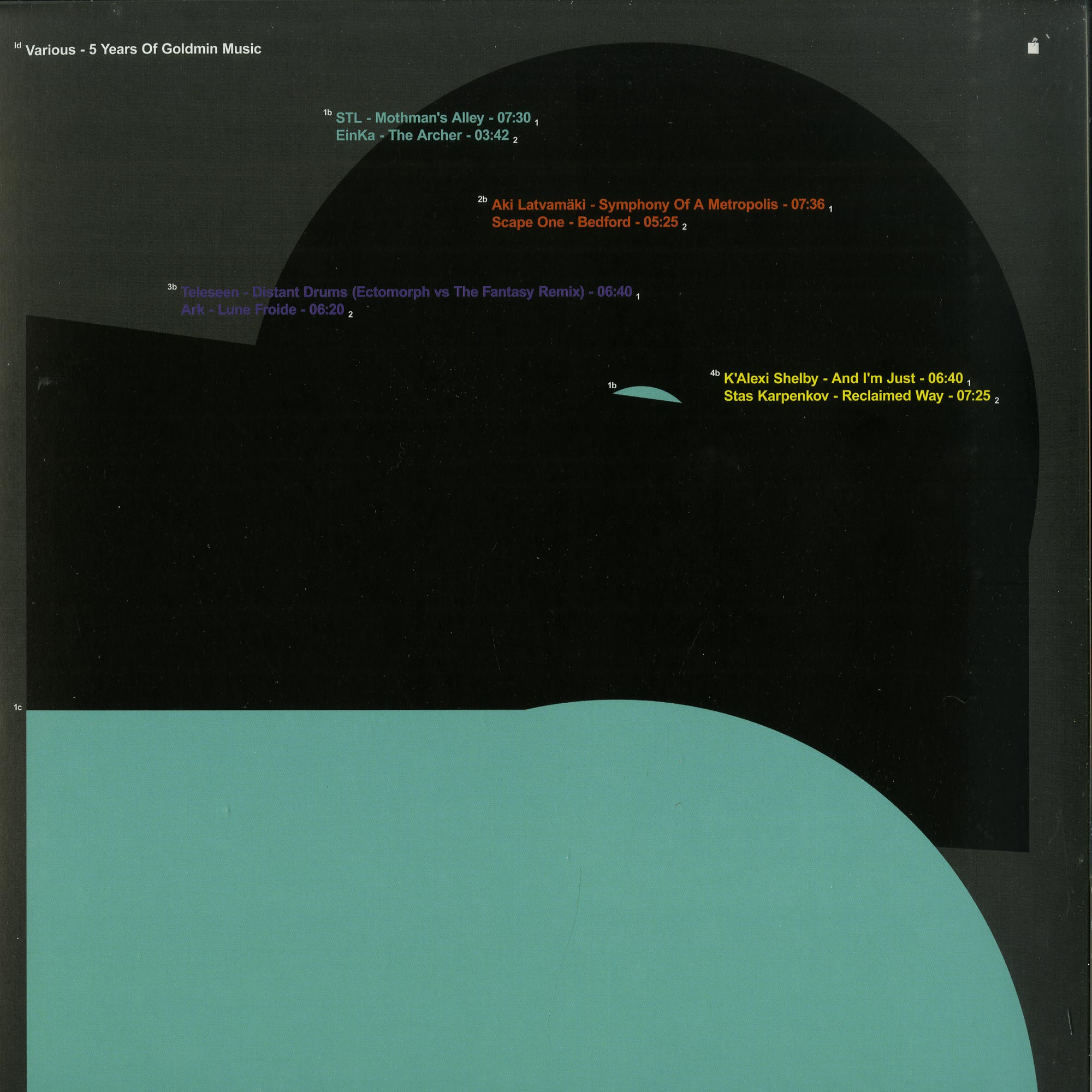 Terrence Dixon, Eduardo De La Calle vs Elbee Bad, STL, EinKa - 5 YEARS OF GOLDMIN MUSIC VOL.1