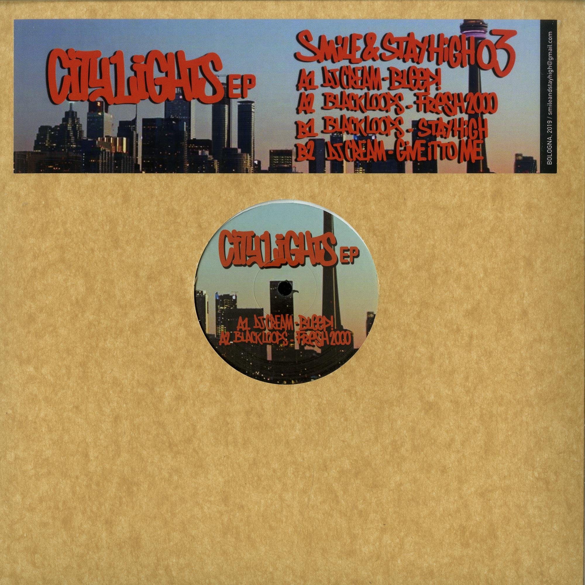 DJ Cream / Black Loops - CITY LIGHTS EP