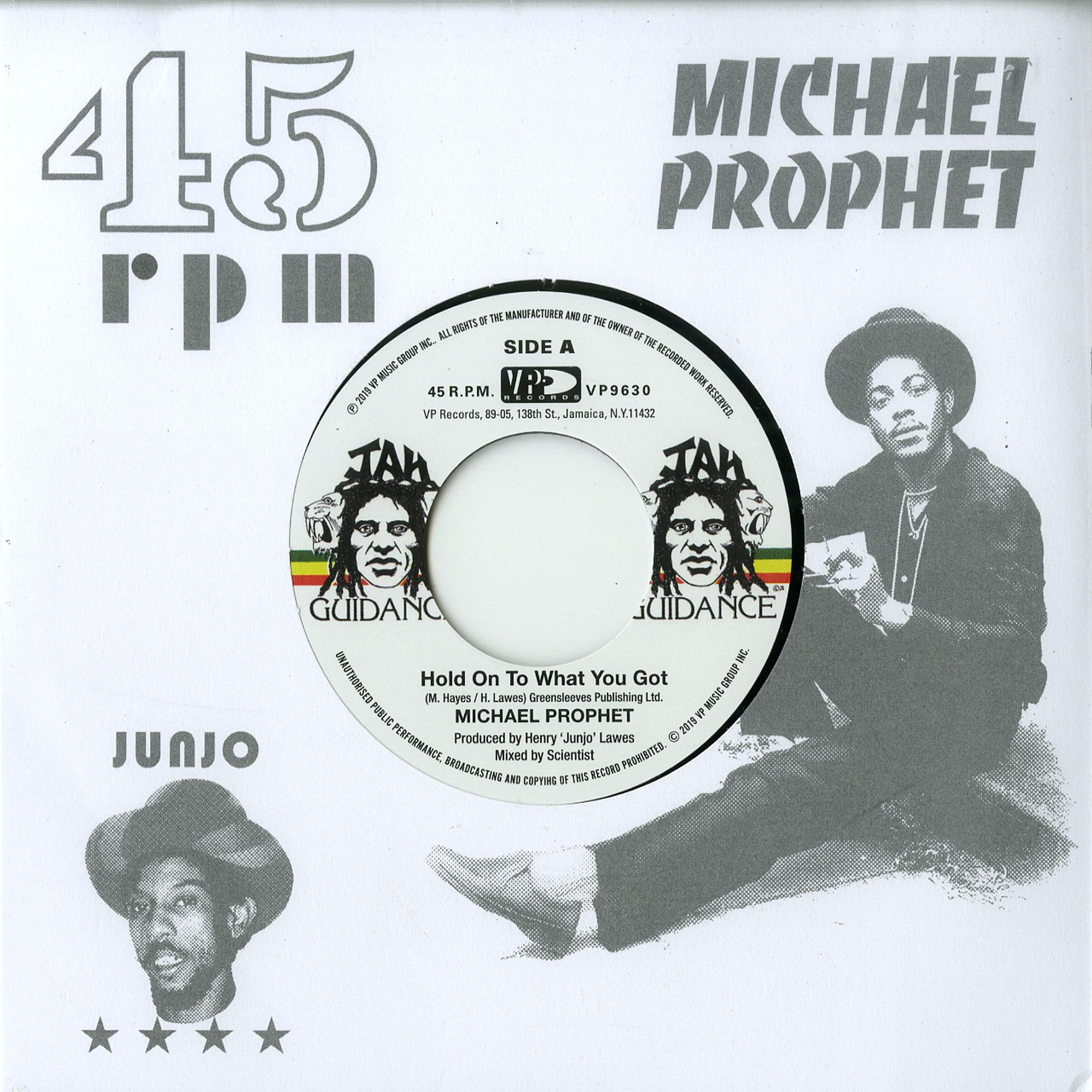 Michael Prophes / Roots Radics - HOLD ON TO WHAT YOU GOT / CRY OF THE WEREWOLF