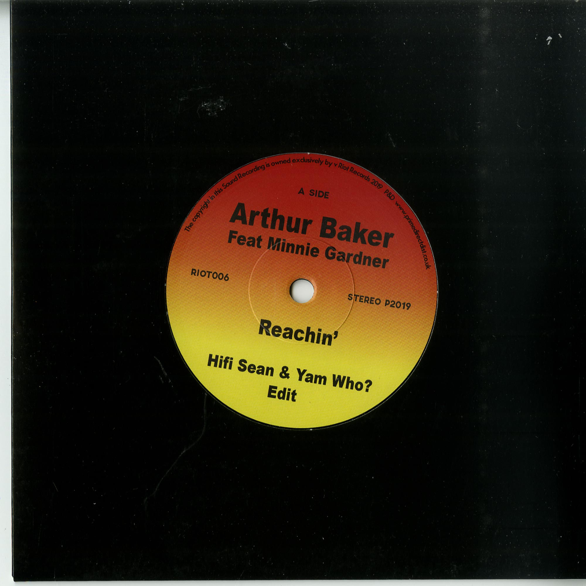 Arthur Baker Ft Minnie Gardner - REACHIN