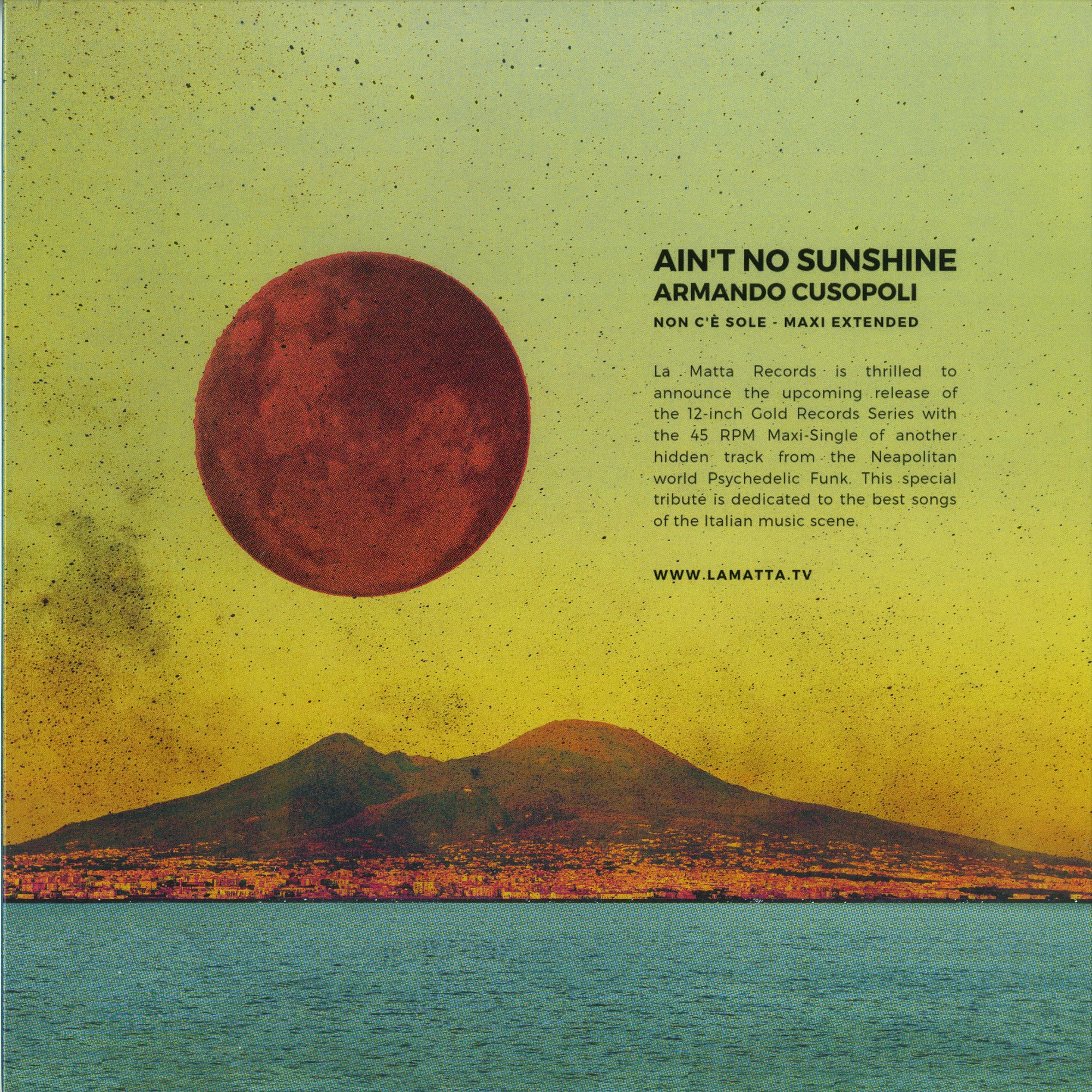 Armando Cusopoli - AINT NO SUNSHINE