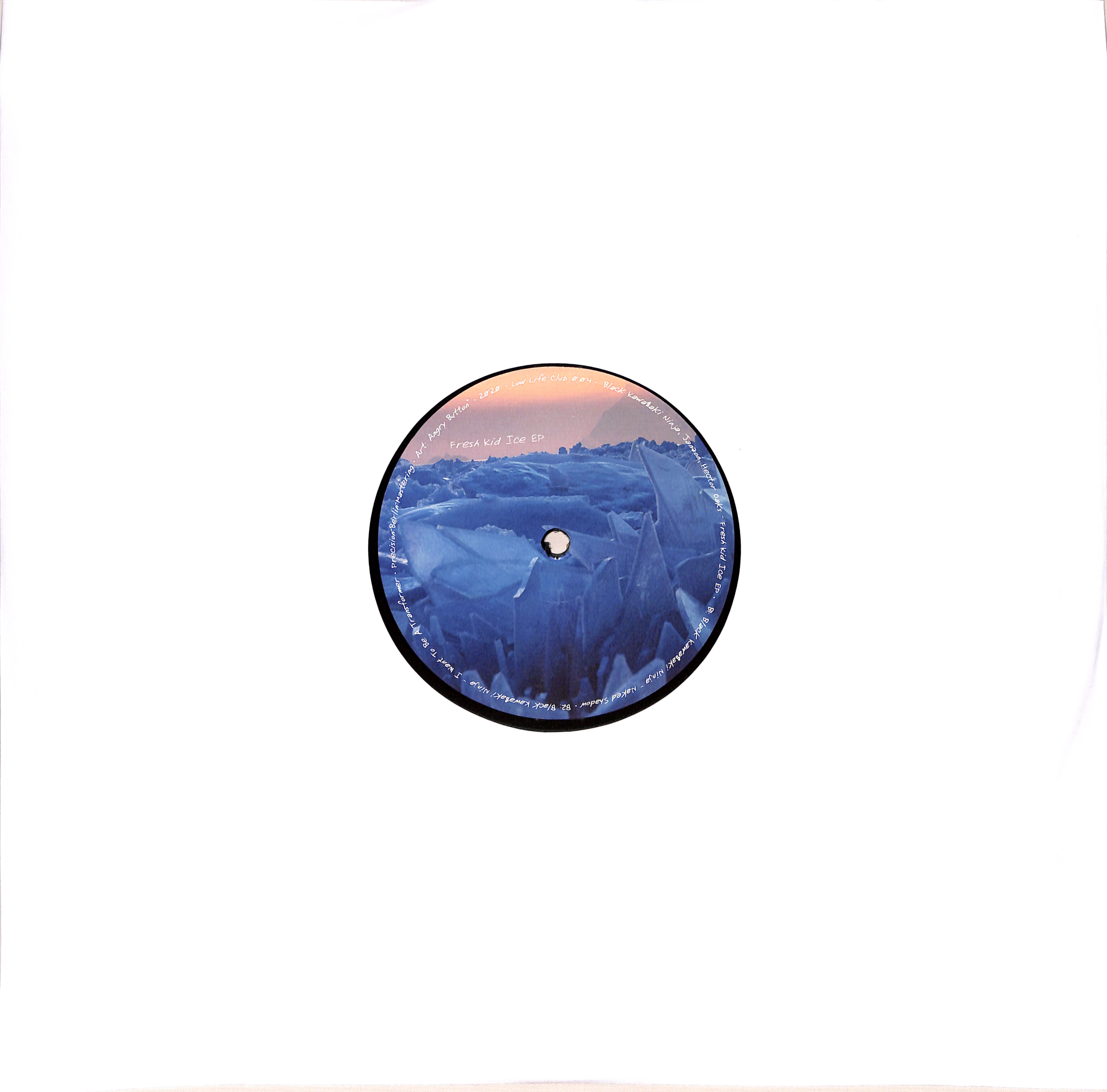 Black Kawa$aki Ninja & Janzon - FRESH KID ICE EP