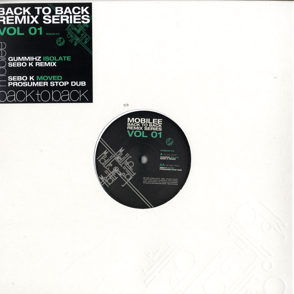V/A - MOBILEE BACK TO BACK REMIX SERIES VOL. 1