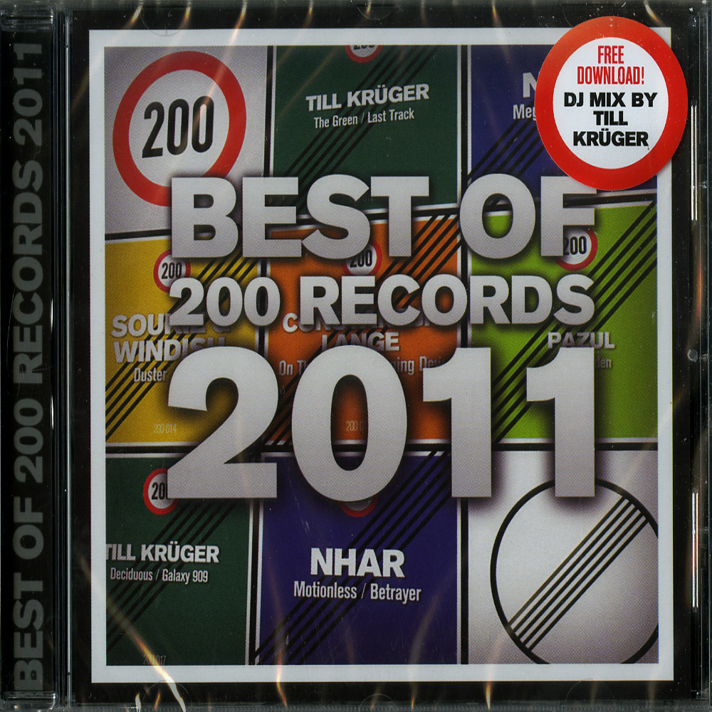 Various Artists - THE BEST OF 200 RECORDS 2011