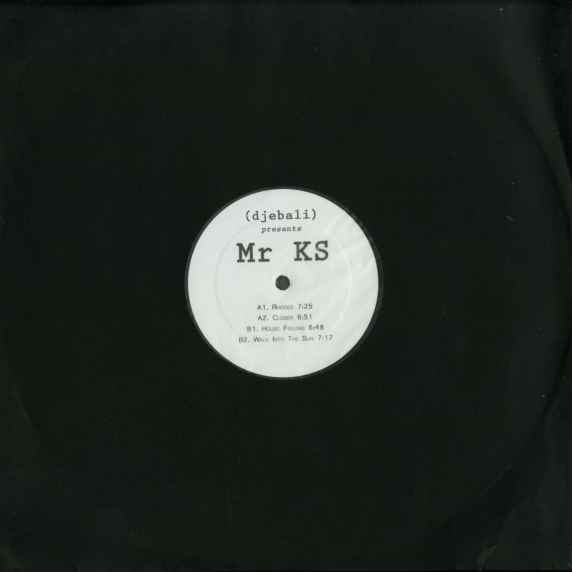 Djebali Presents Mr KS - EP