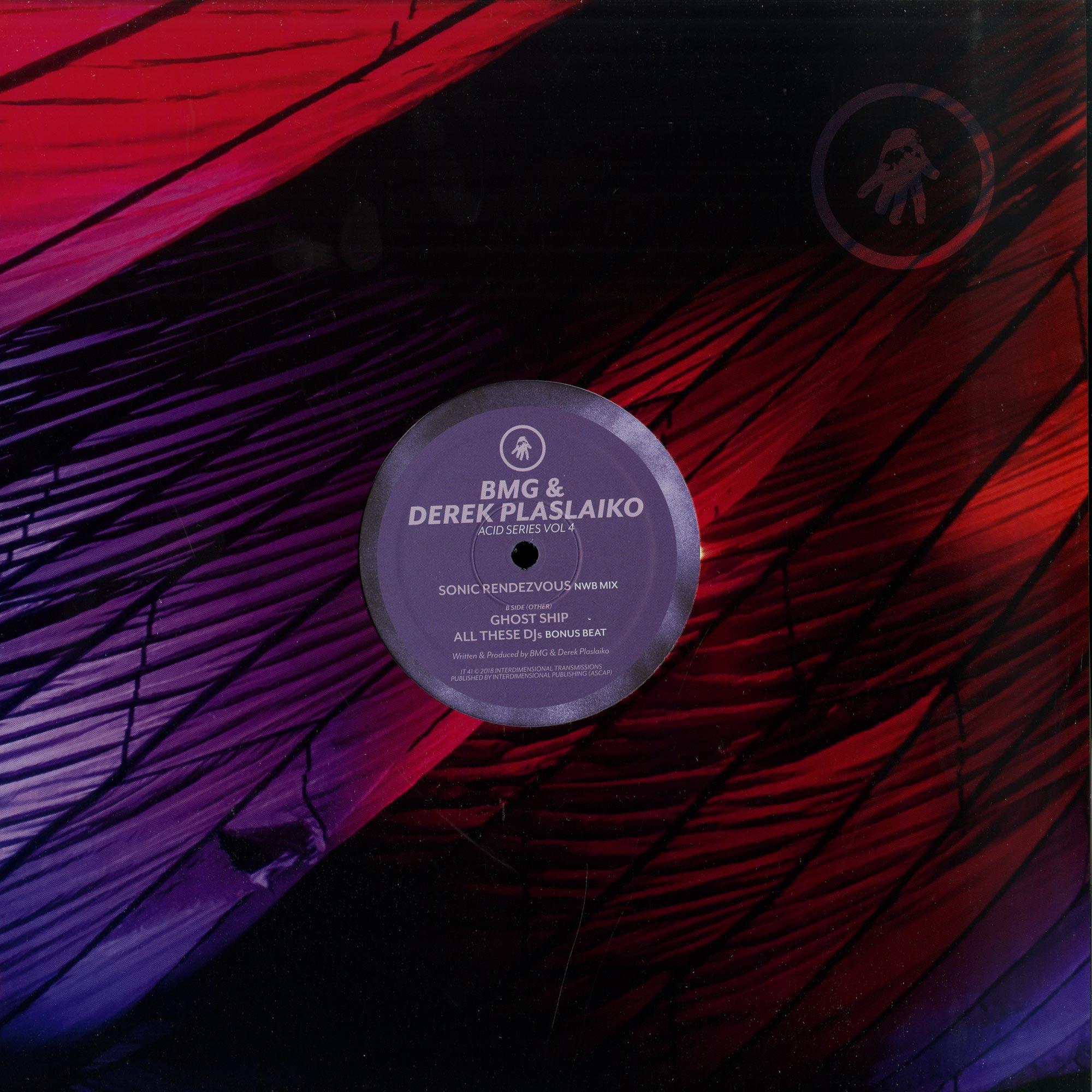 BMG & Derek Plaslaiko - ACID SERIES VOL. 4