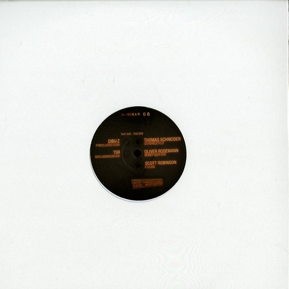 Slidebar Recordings - TASTE THE DIFFERENCE EP