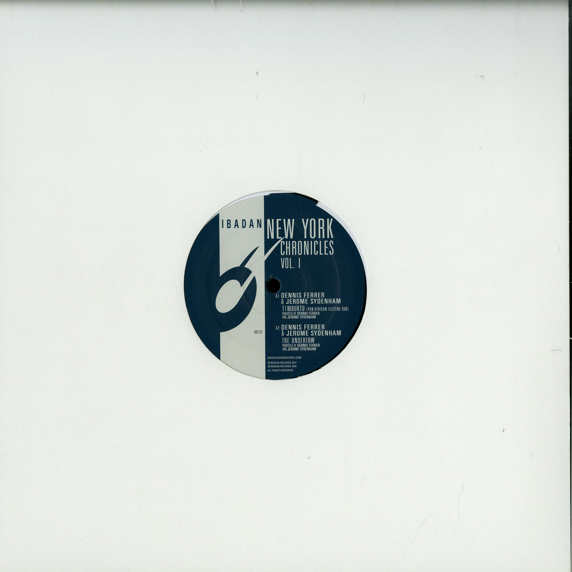 Dennis Ferrer & Jerome Sydenham - NEW YORK CHRONICLES VOL 1