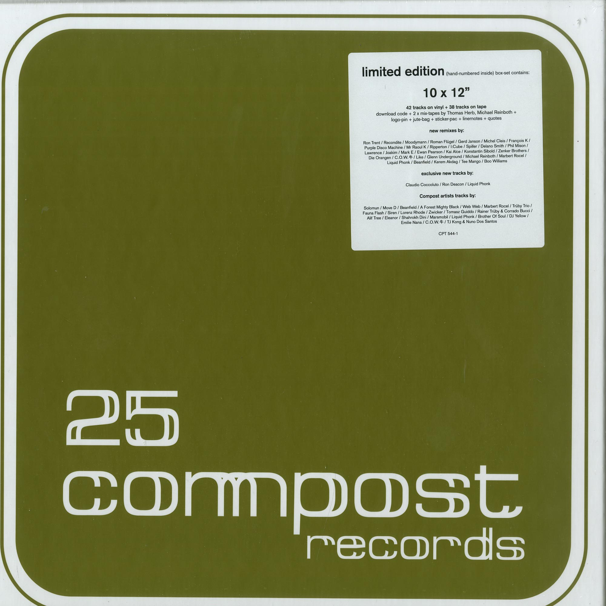 Various Artists - 25 COMPOST RECORDS