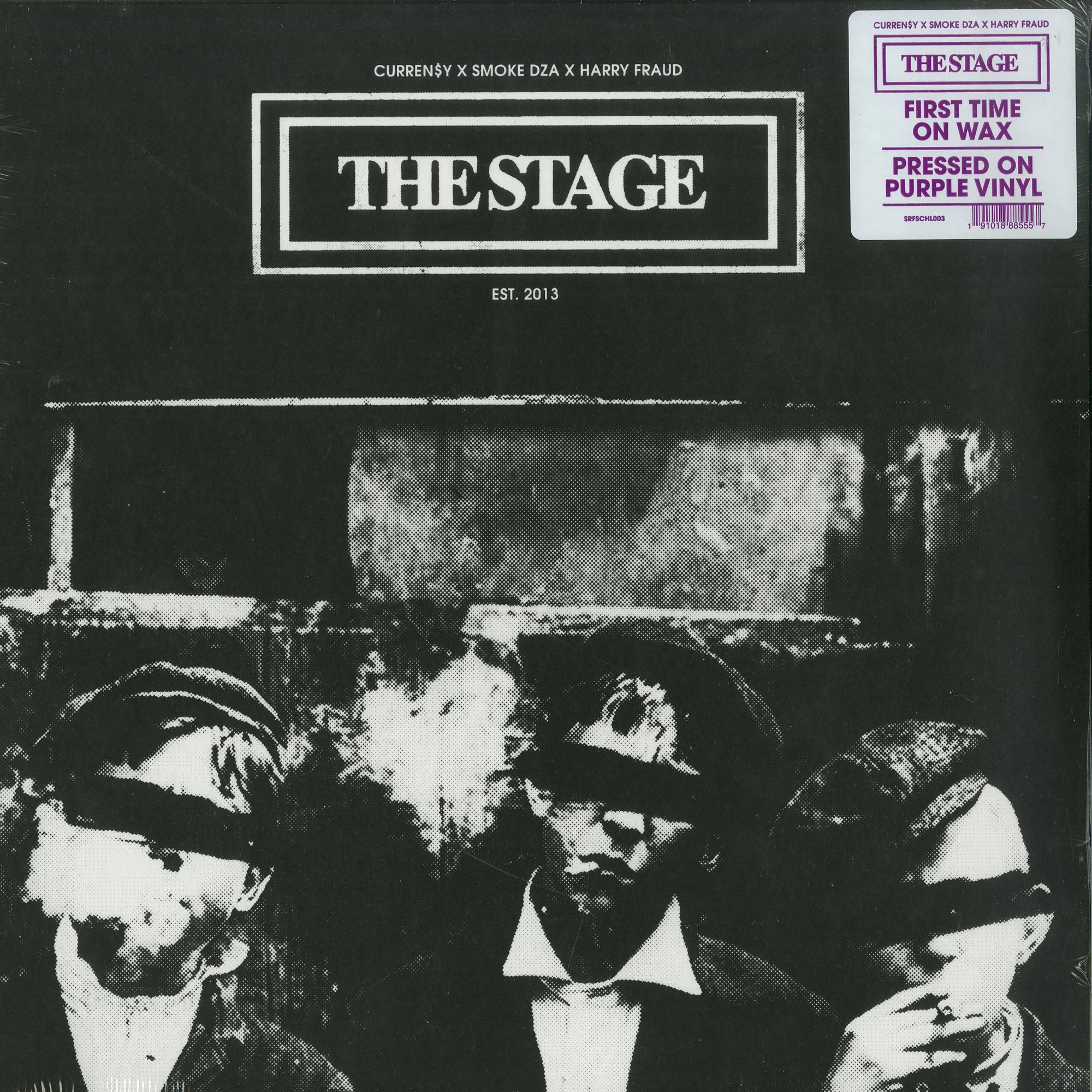 Curren$y x Smoke DZA x Harry Fraud - THE STAGE