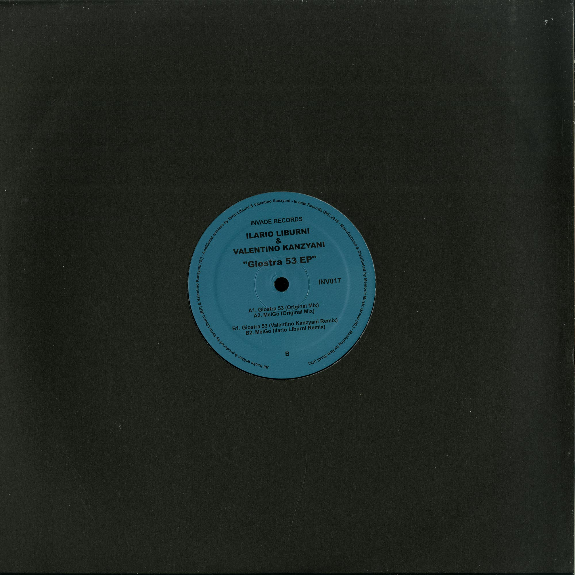 Ilario Liburni / Valentino Kanzyani - GIOSTRA 53 EP