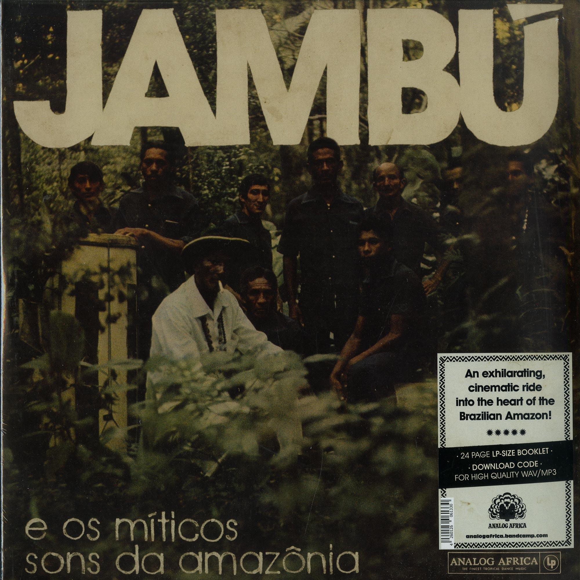 Various Artists - JAMBU - E OS MITICOS SONS DA AMAZONIA