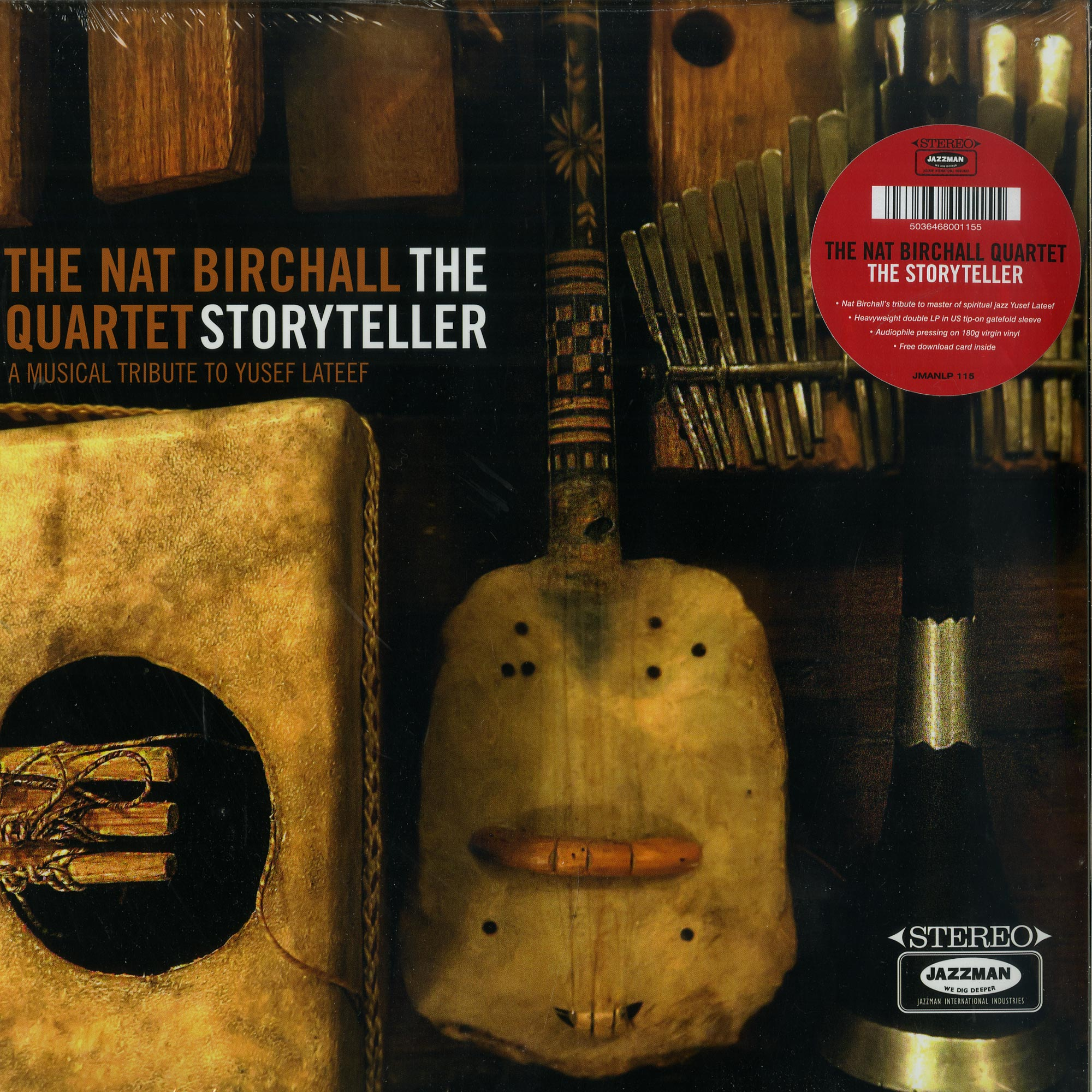 The Nat Birchall Quartet - THE STORYTELLER -  A MUSICAL TRIBUTE TO YUSEF LATEEF