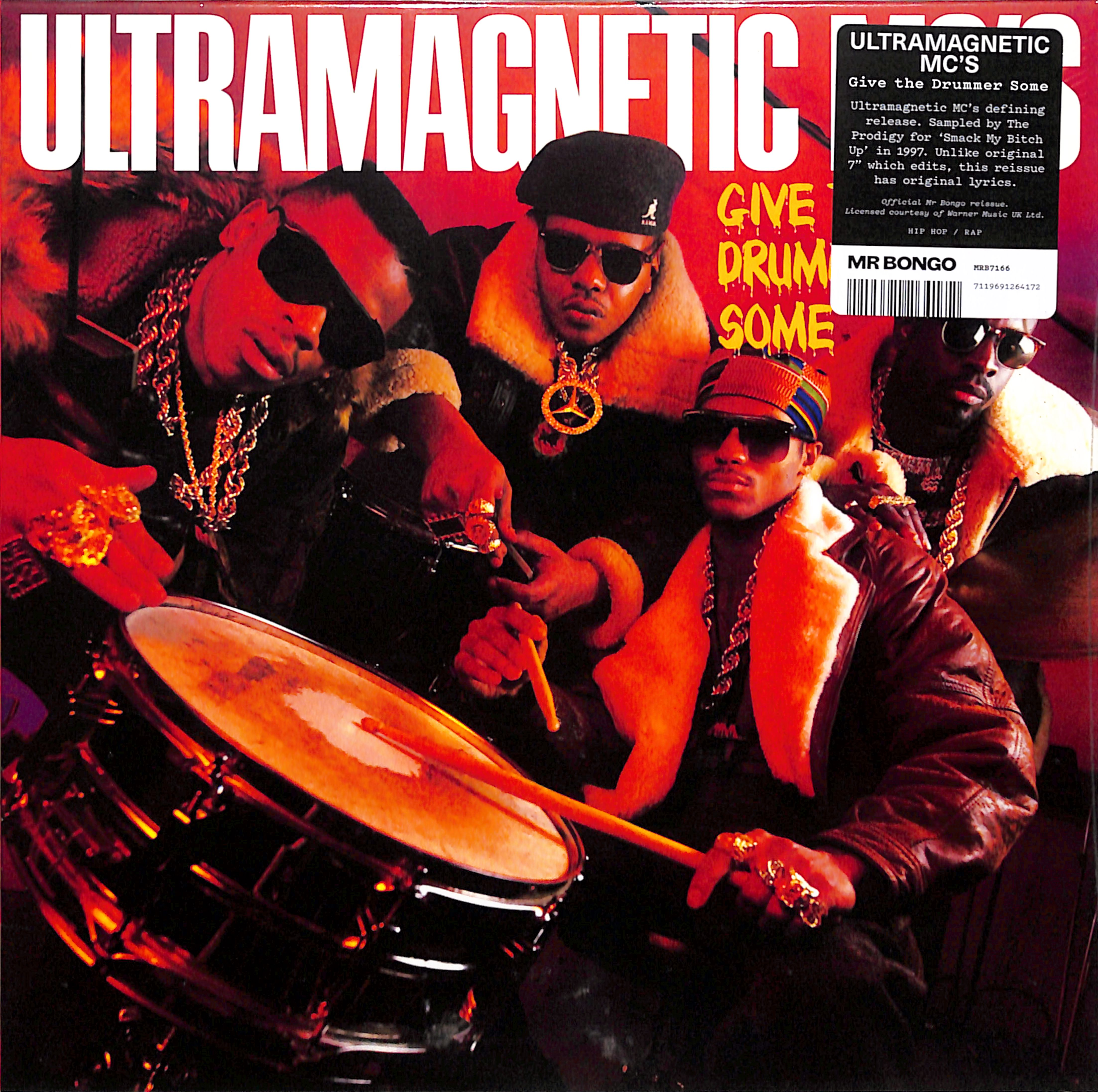 Ultramagnetic M.C.s - GIVE THE DRUMMER SOME