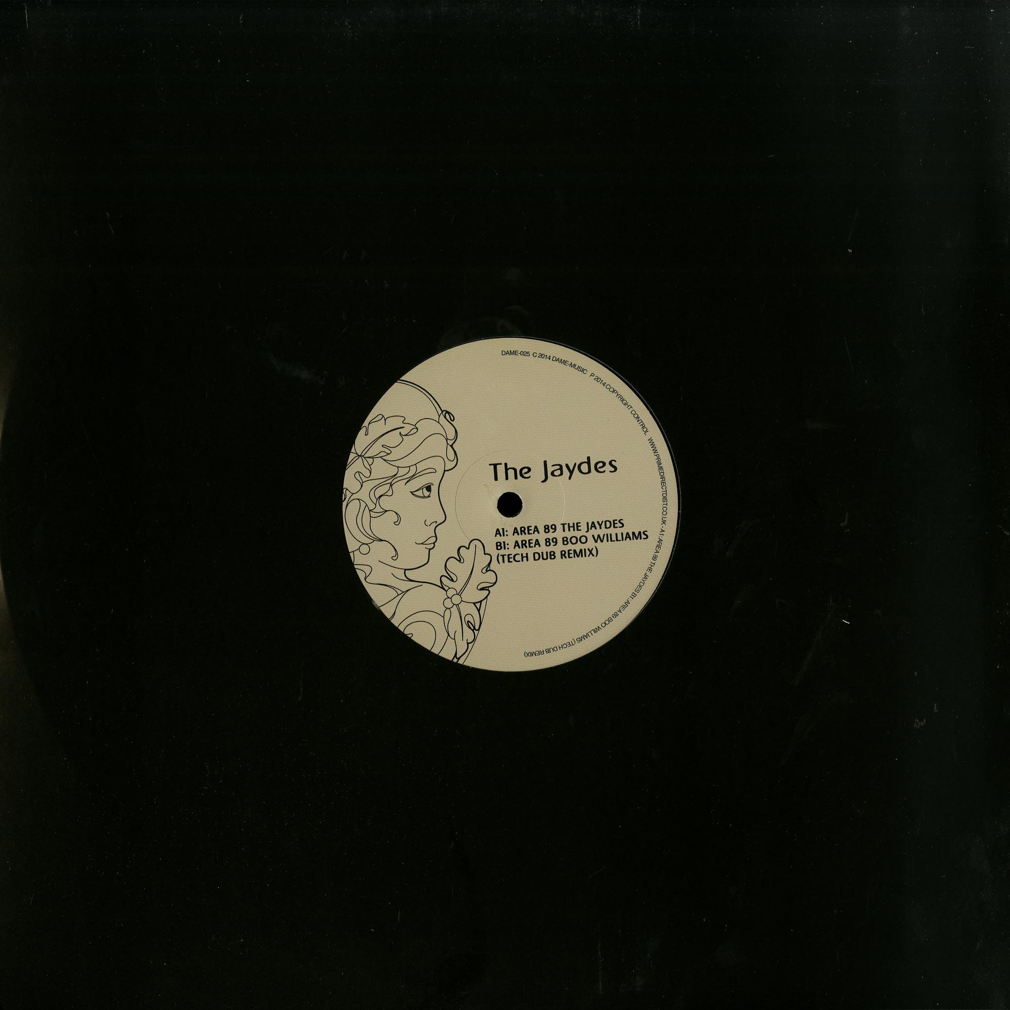 The Jaydes - AREA 89 - INCL BOO WILLIAMS RMX