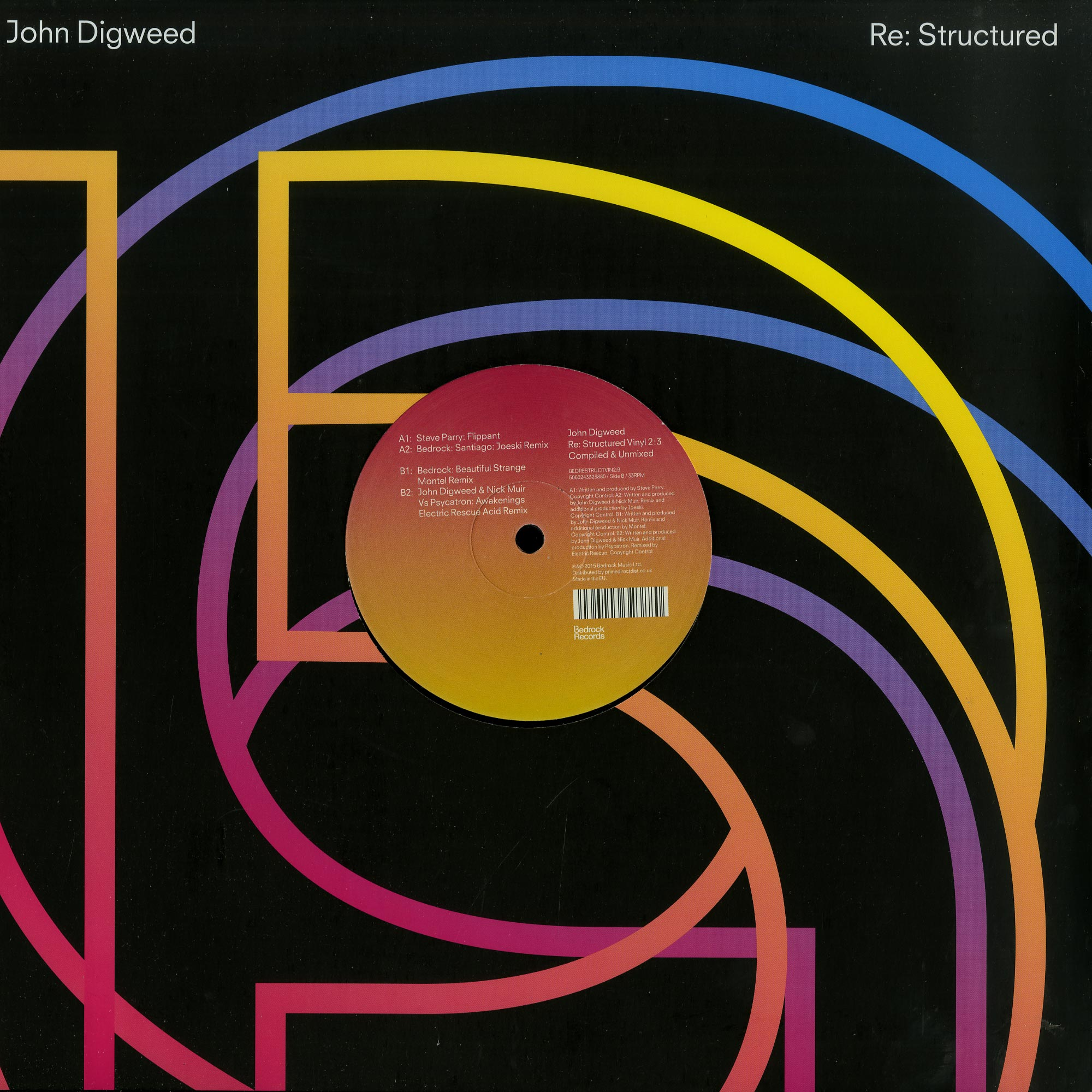 John Digweed Pres - RE: STRUCTURED VINYL 2