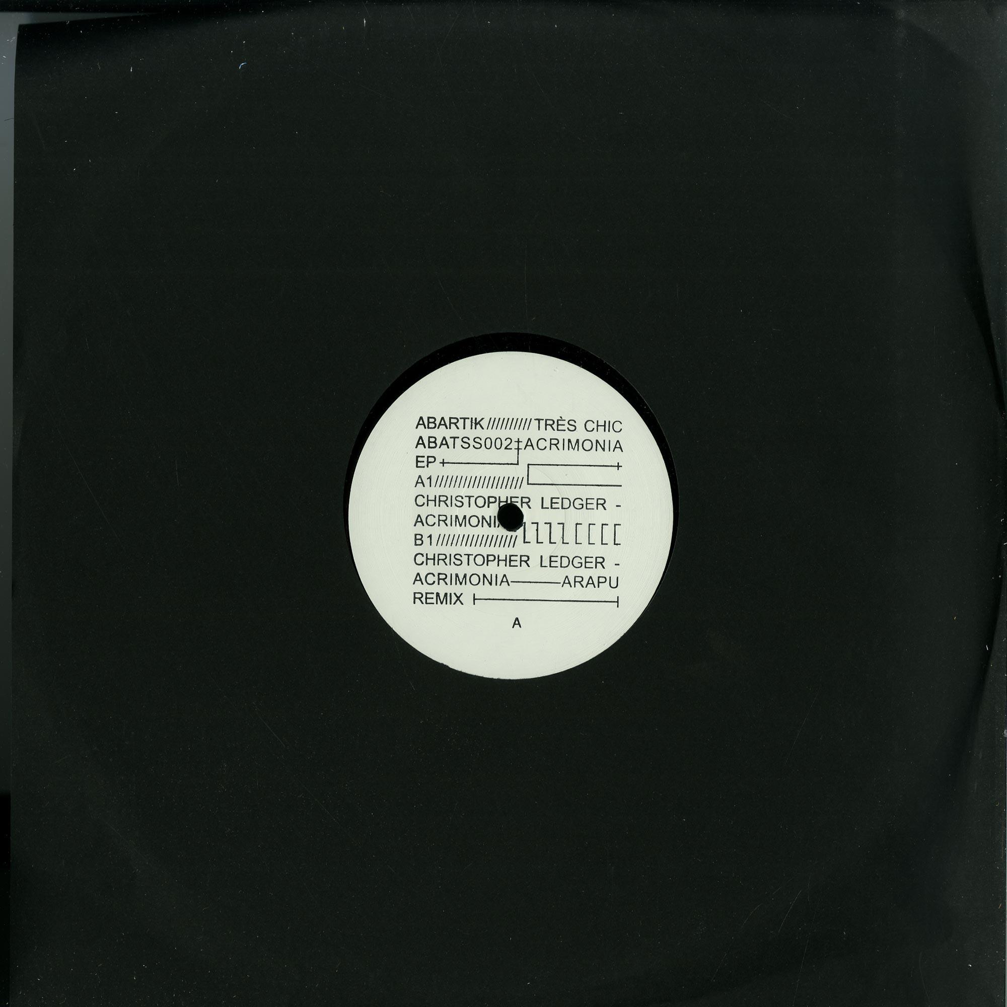 Christopher Ledger - ACRIMONIA EP